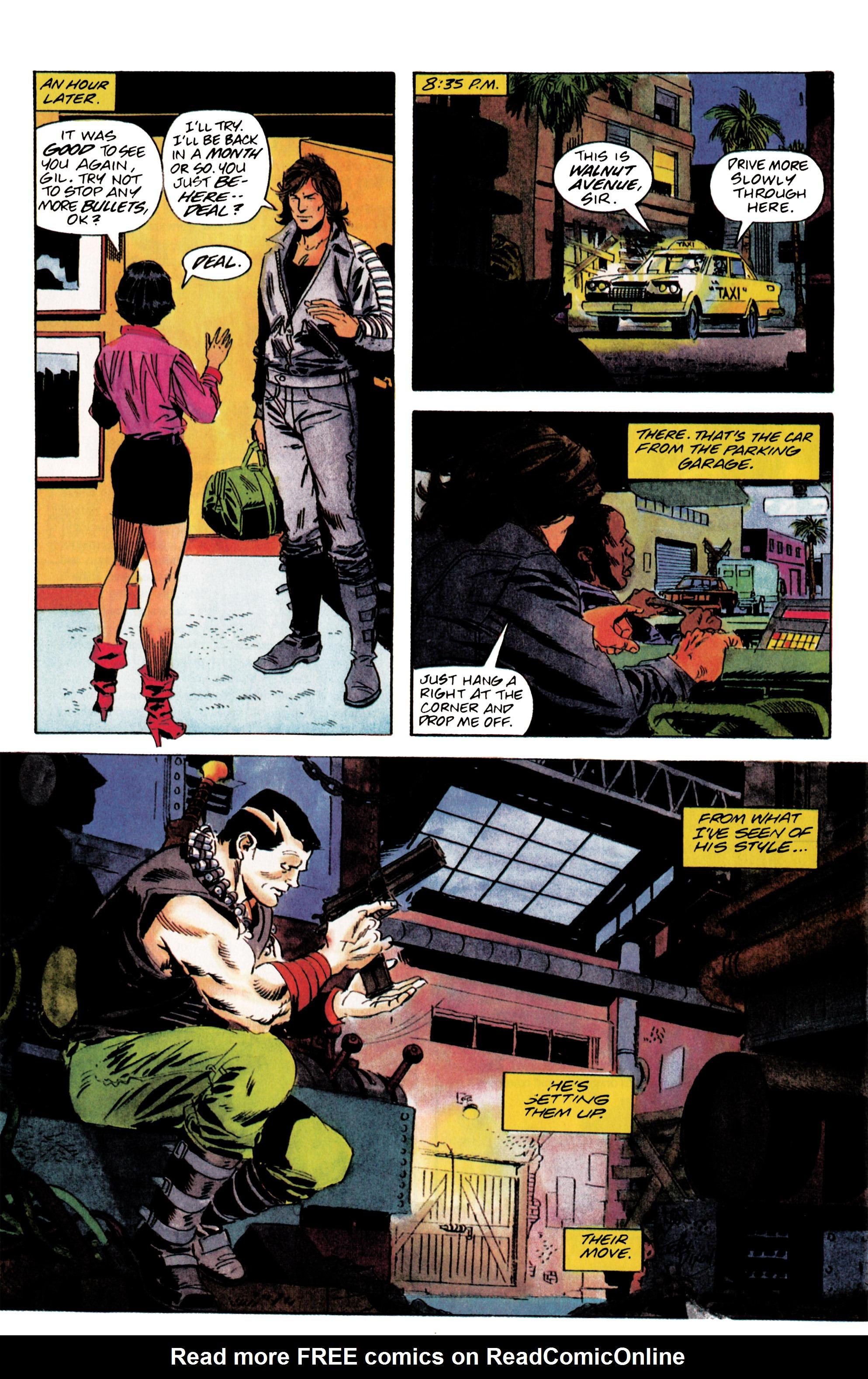 Read online Eternal Warrior (1992) comic -  Issue #5 - 18