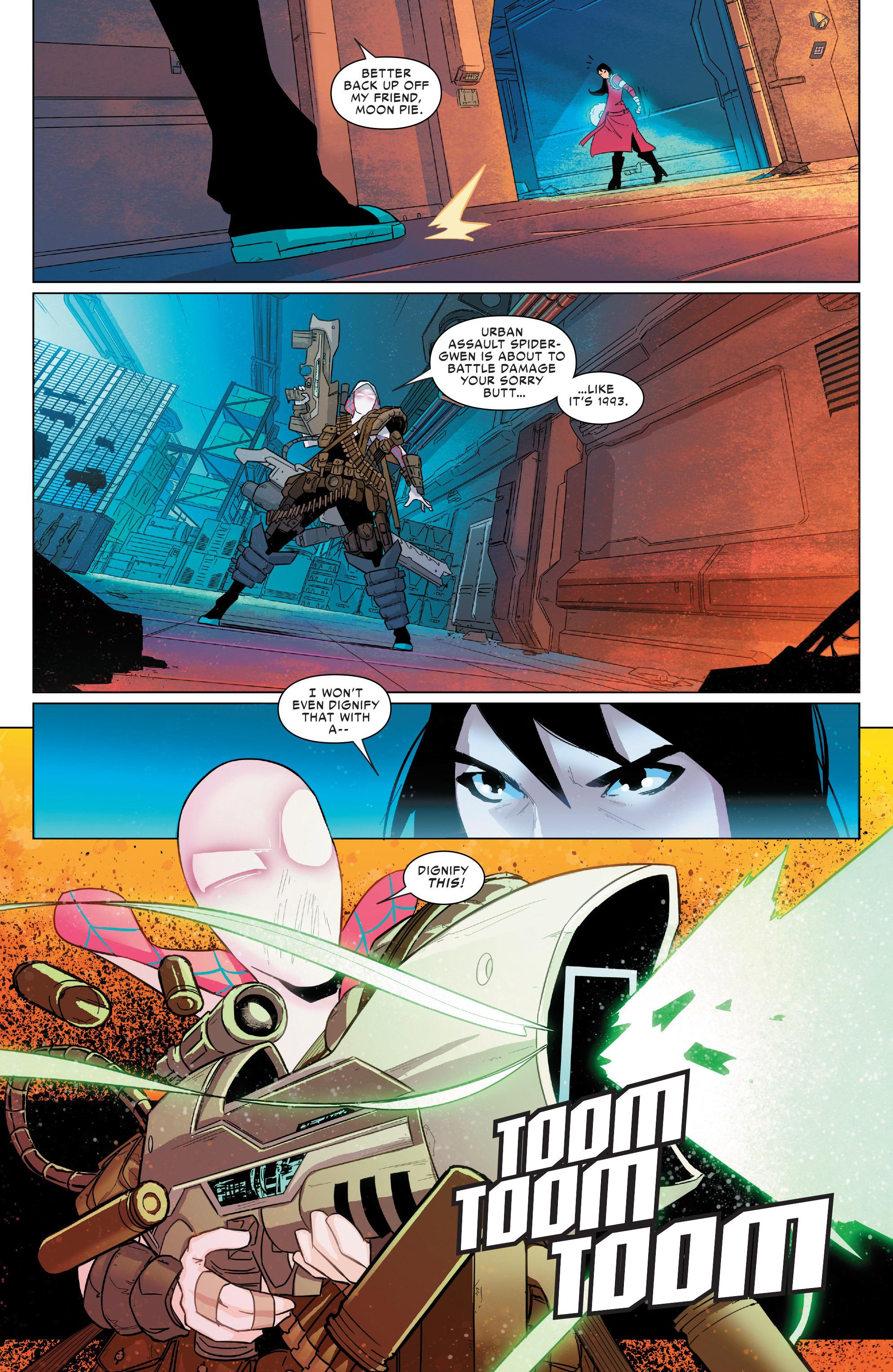 Read online Spider-Women Omega comic -  Issue # Full - 17