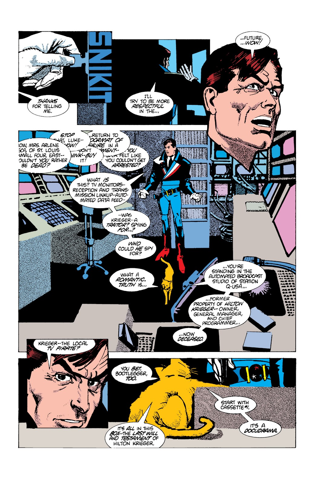 American Flagg! issue Definitive Collection (Part 1) - Page 99