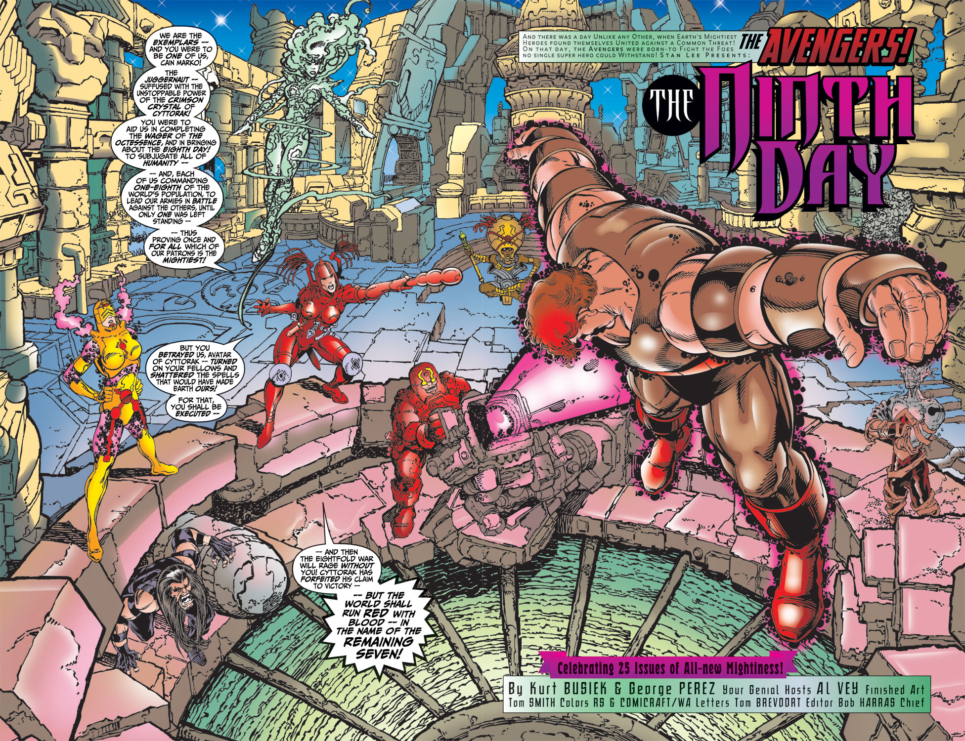 Read online Avengers (1998) comic -  Issue #25 - 3