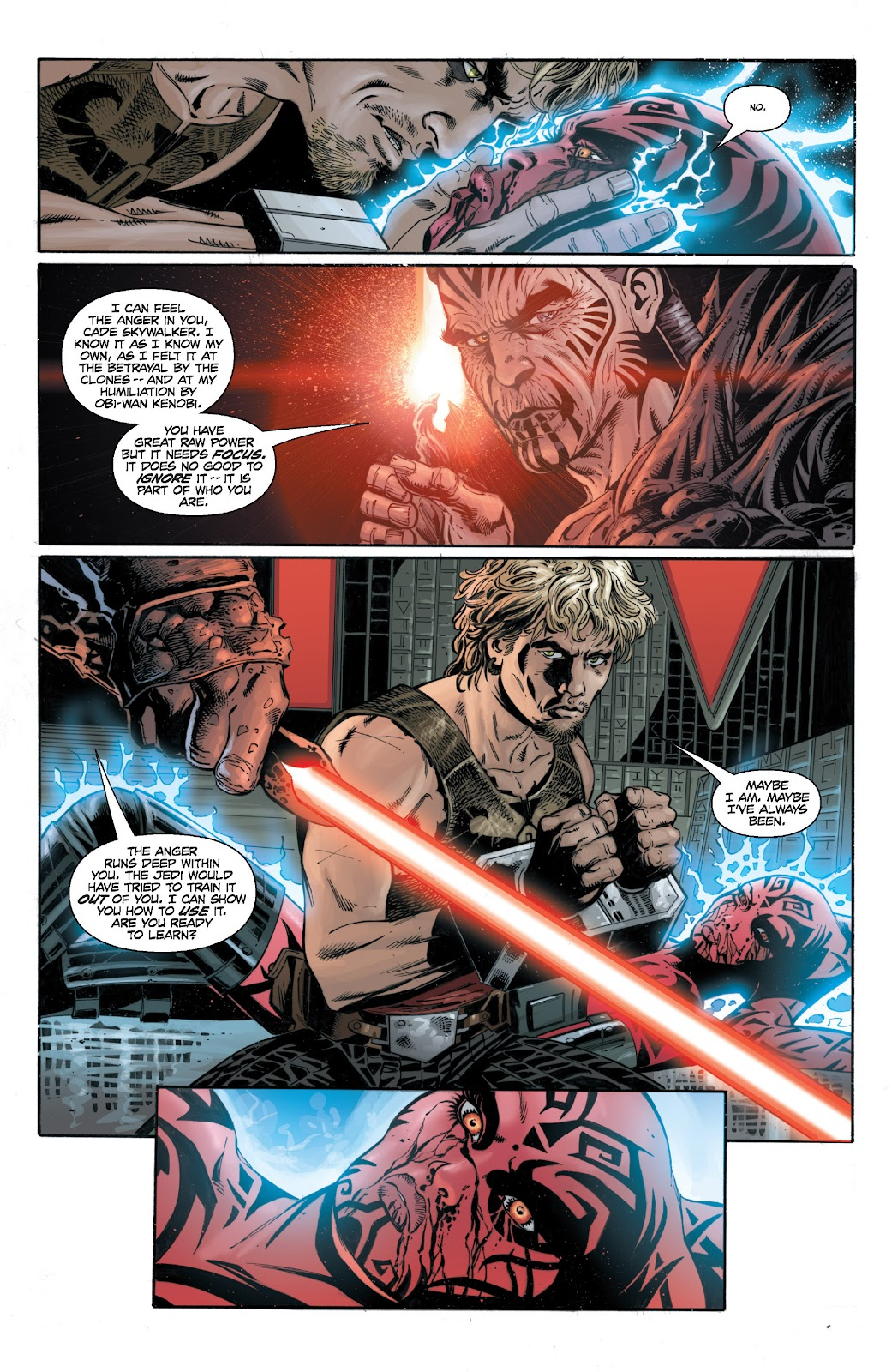 Read online Star Wars Legends: Legacy - Epic Collection comic -  Issue # TPB 1 (Part 4) - 87