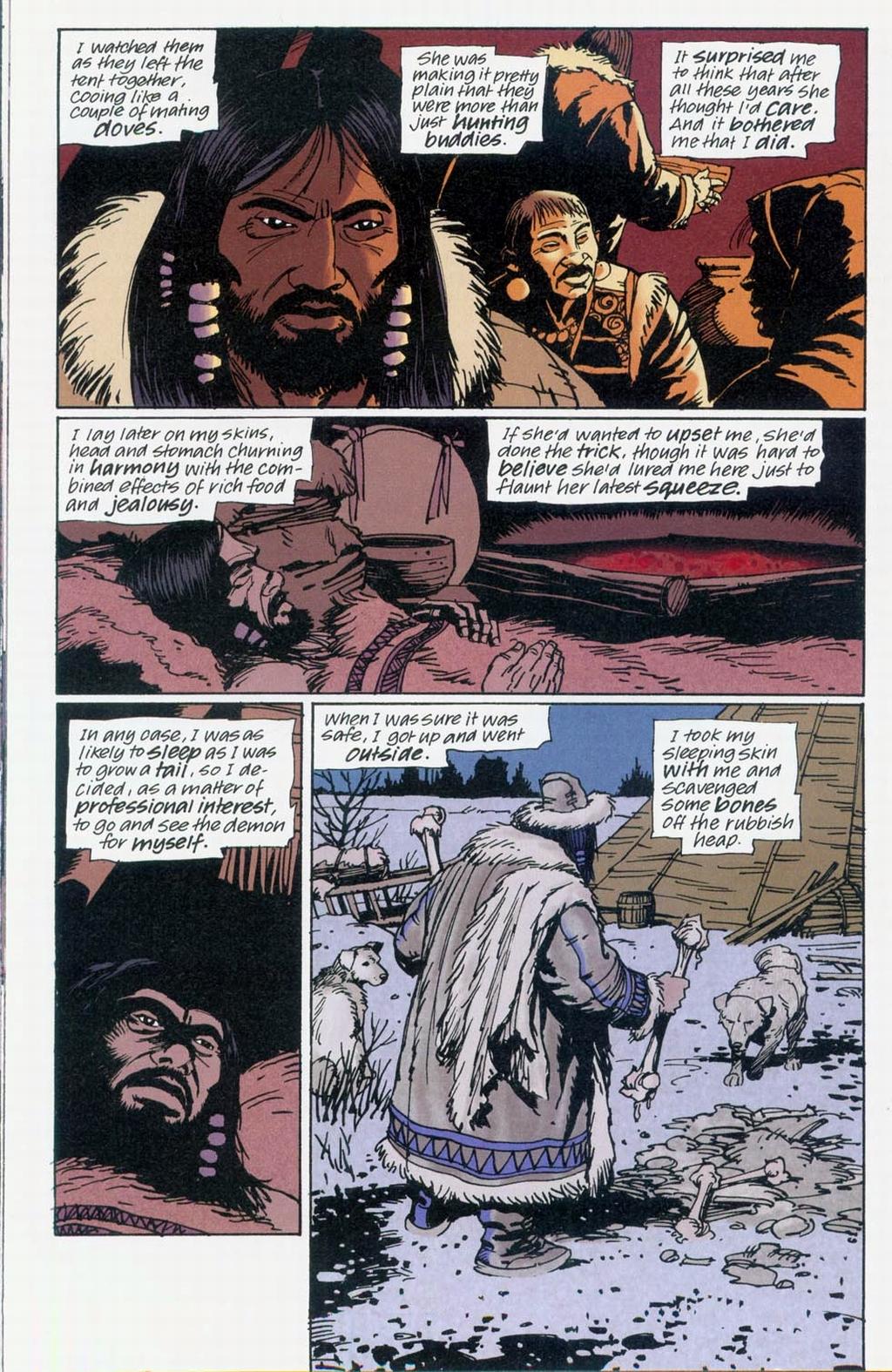 Muktuk Wolfsbreath: Hard-Boiled Shaman issue 1 - Page 12
