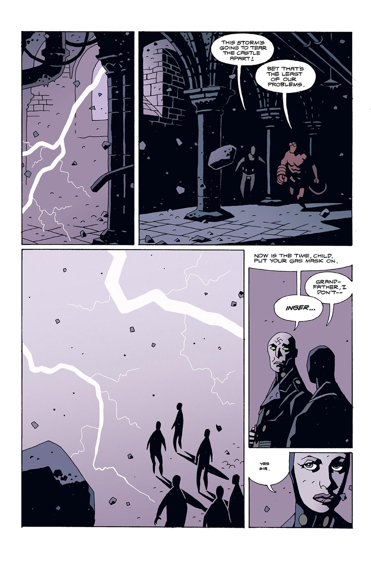 Read online Hellboy: Conqueror Worm comic -  Issue #3 - 4