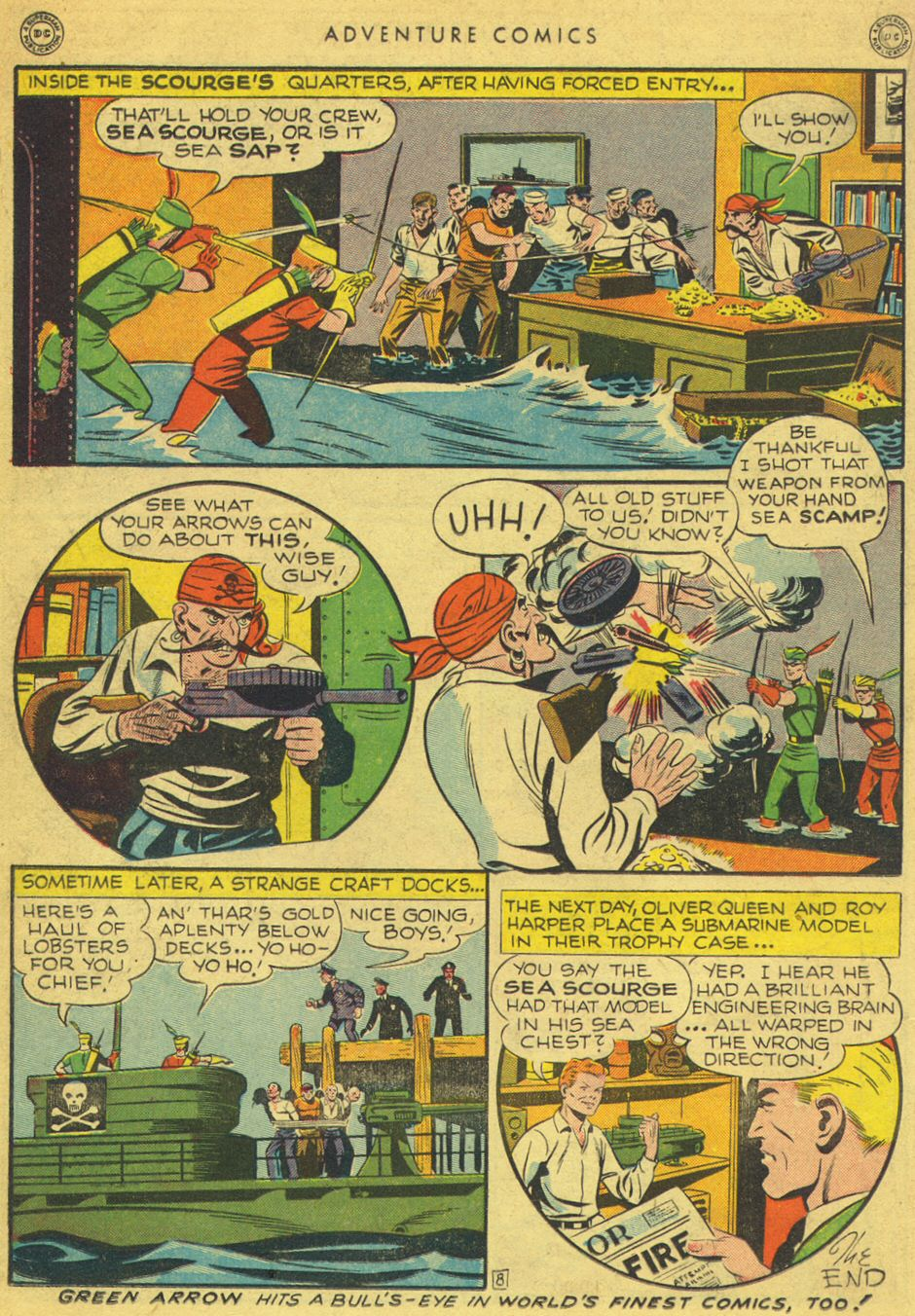 Read online Adventure Comics (1938) comic -  Issue #134 - 26