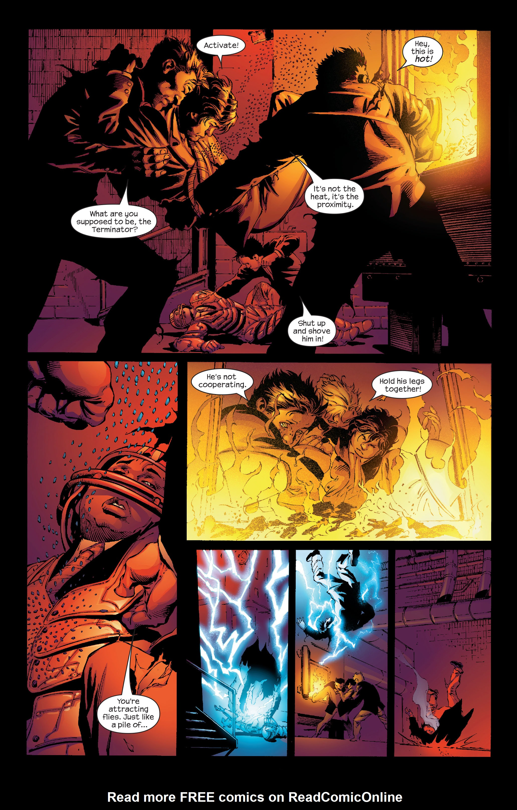 Read online Ultimate Iron Man (2005) comic -  Issue #4 - 4