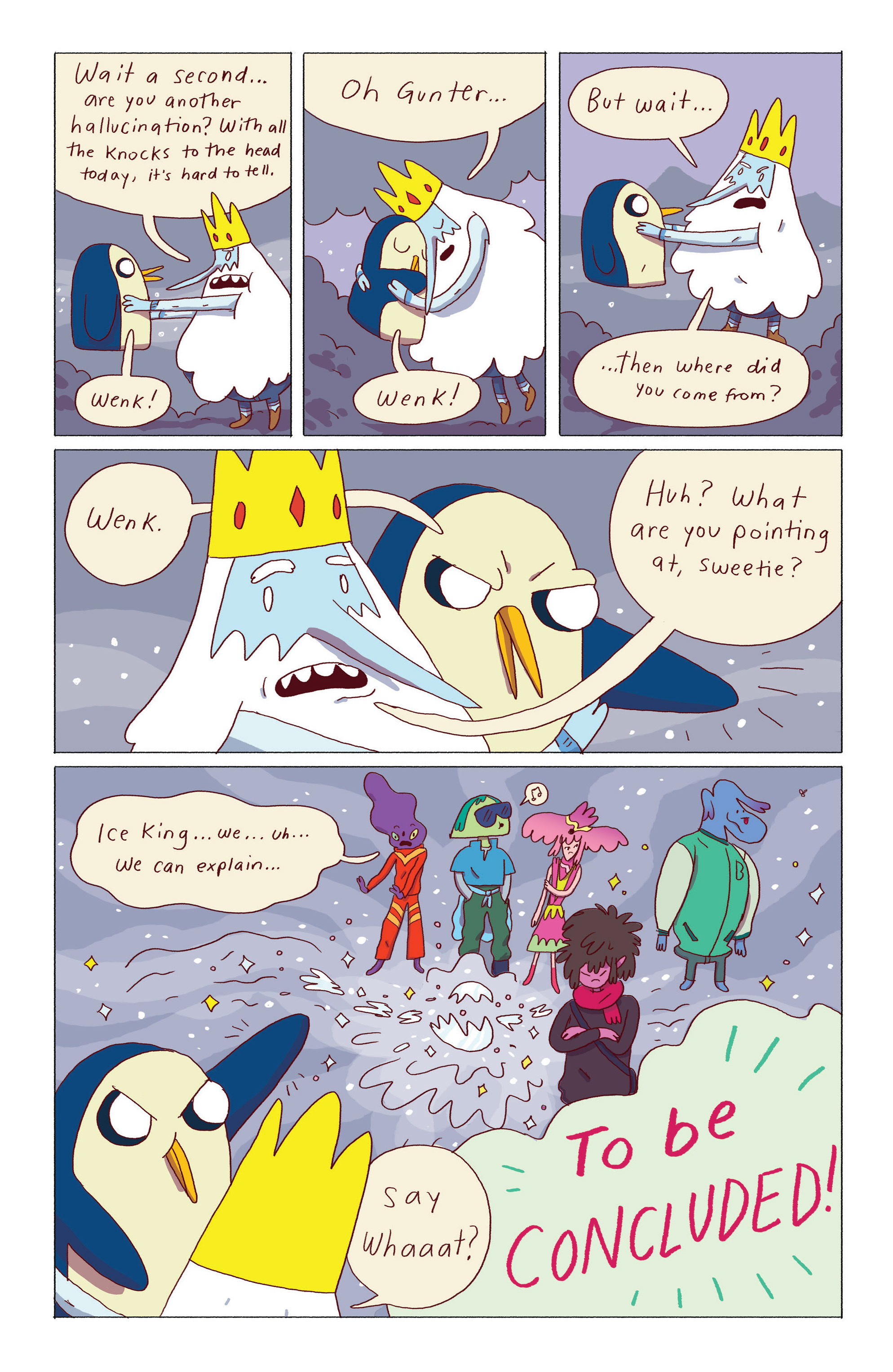 Read online Adventure Time: Ice King comic -  Issue #5 - 24