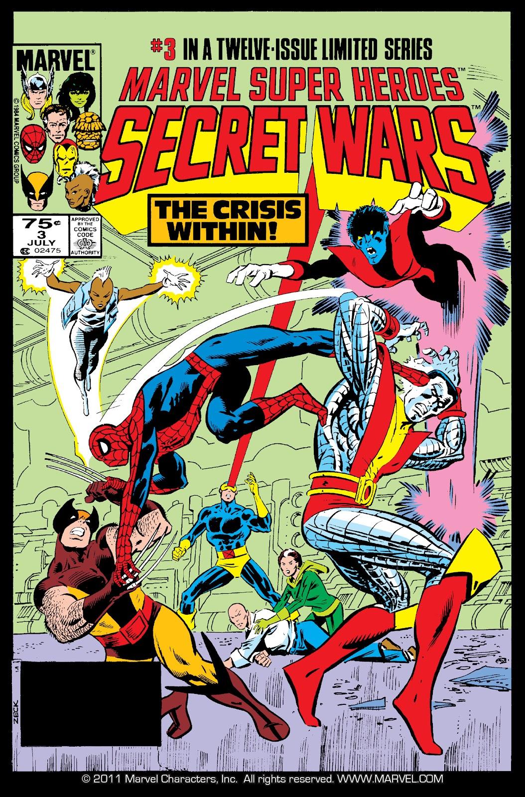 Secret Wars (1985) issue 3 - Page 1