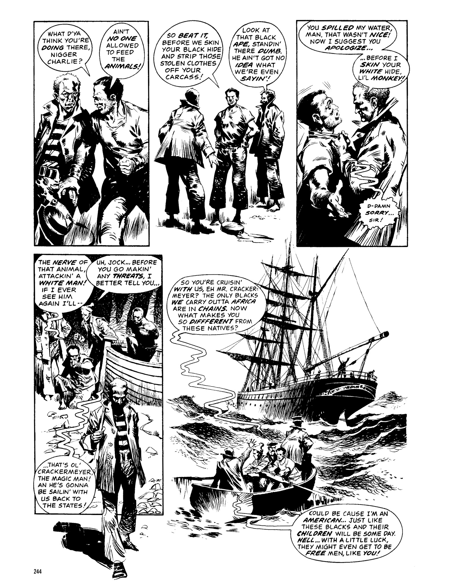 Read online Eerie Archives comic -  Issue # TPB 13 - 245