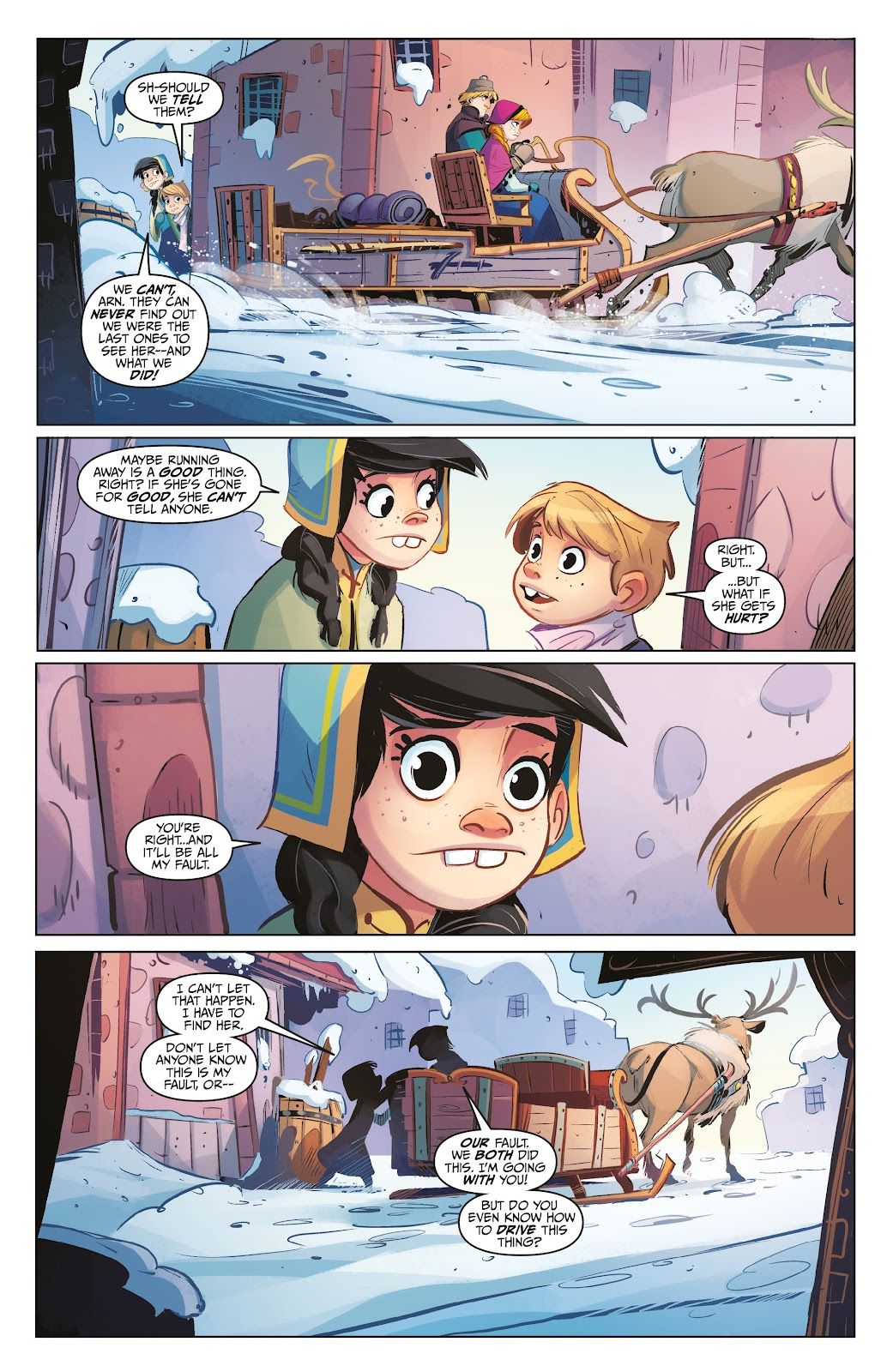 Read online Disney Frozen: The Hero Within comic -  Issue #2 - 10