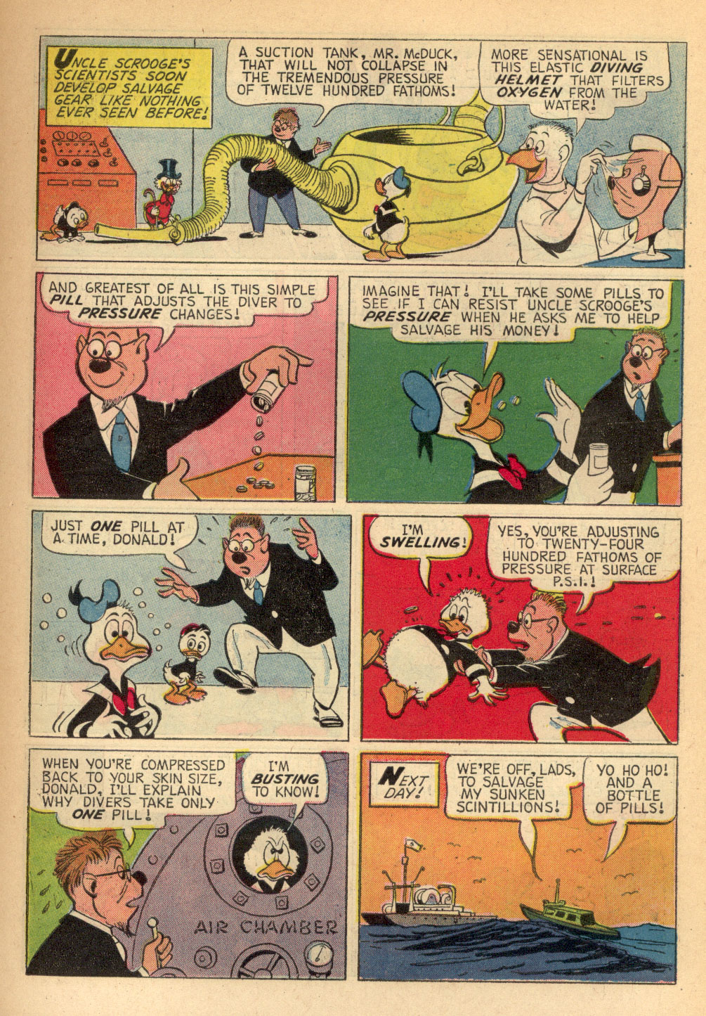 Read online Uncle Scrooge (1953) comic -  Issue #68 - 7