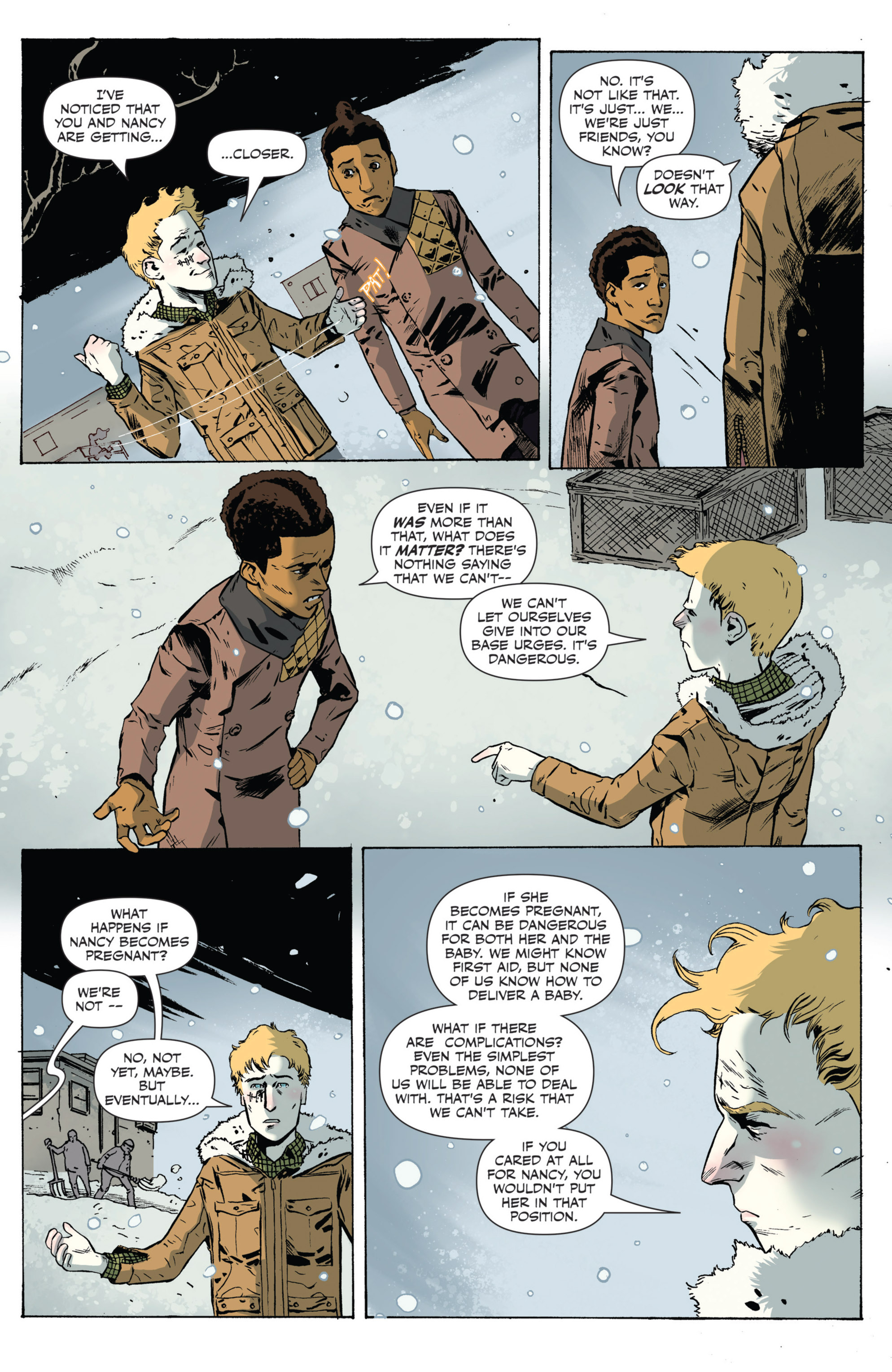 Read online Sheltered comic -  Issue #5 - 12
