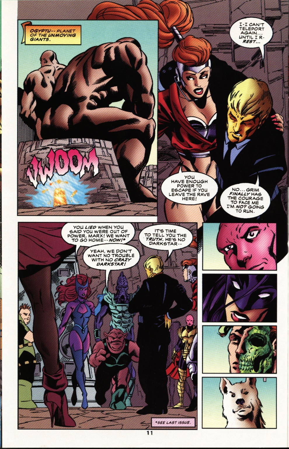 Read online Superboy & The Ravers comic -  Issue #12 - 12