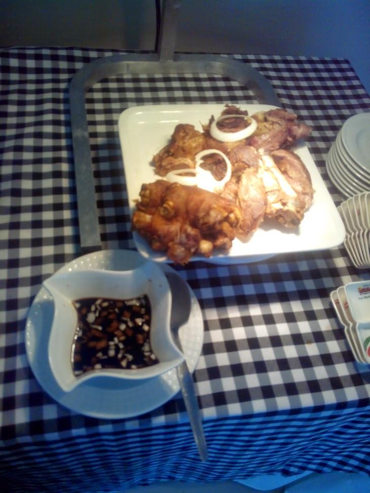 crispy pata at Pino Inasal