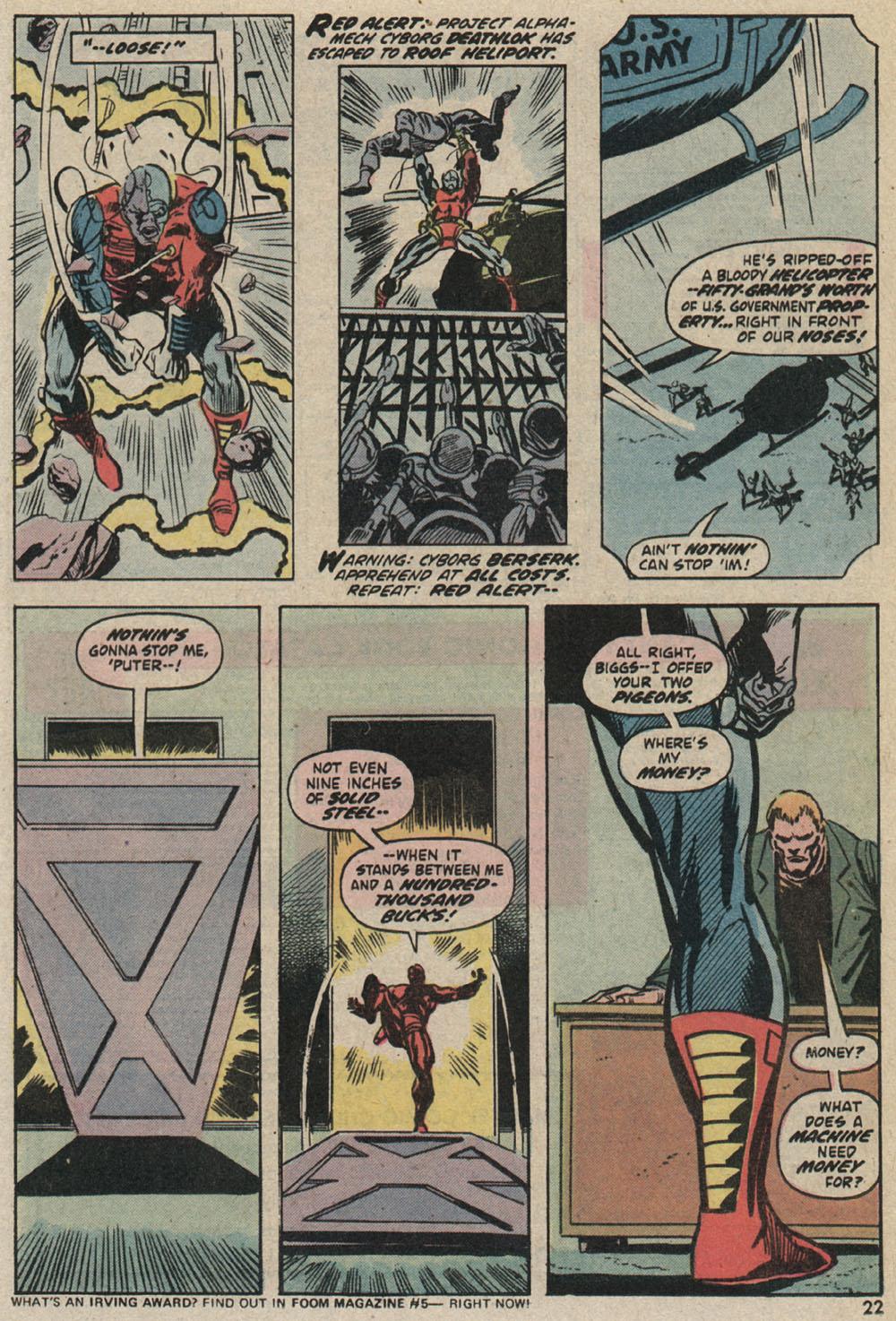 Read online Astonishing Tales (1970) comic -  Issue #25 - 16