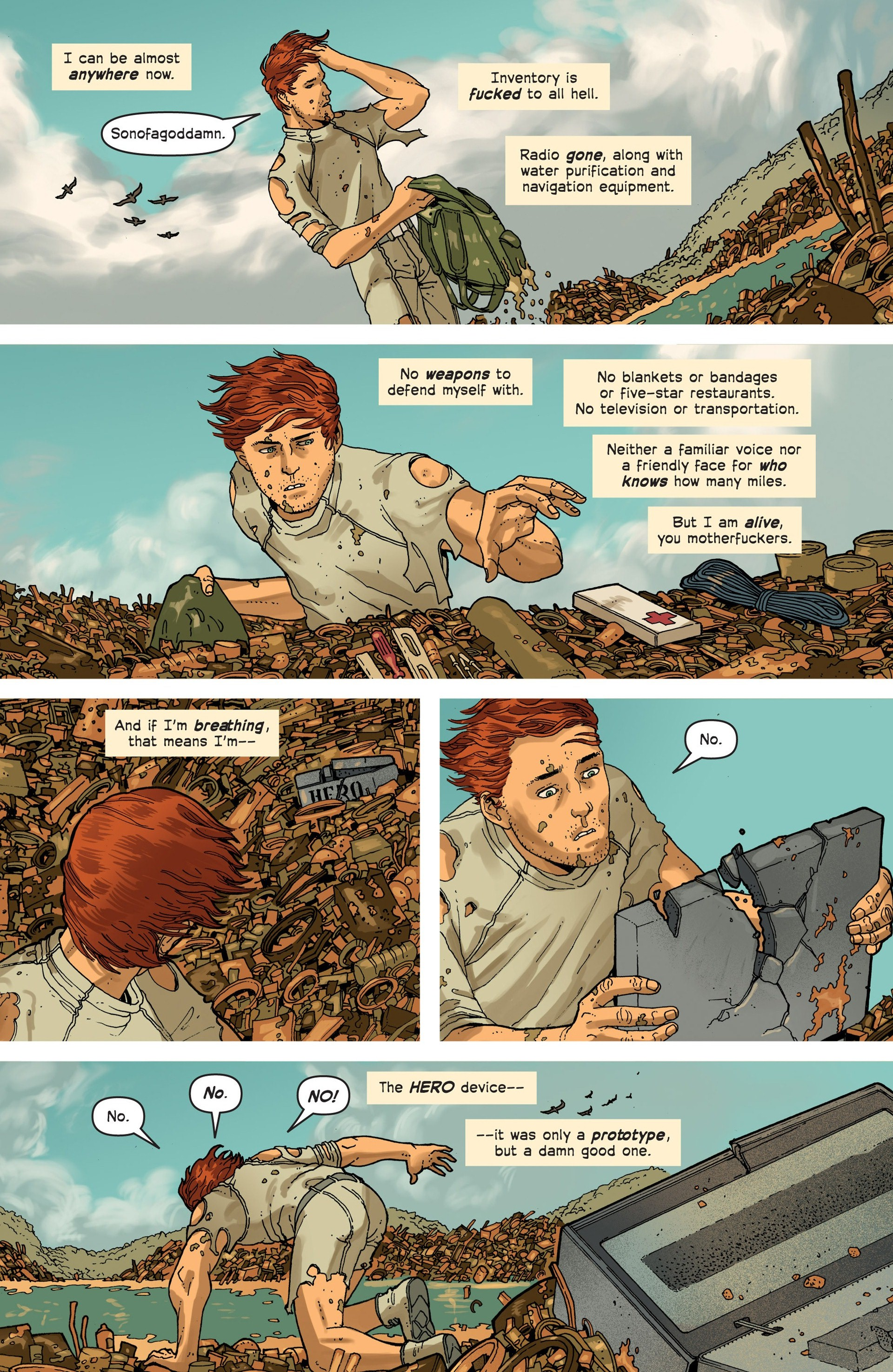 Read online Great Pacific comic -  Issue #3 - 6