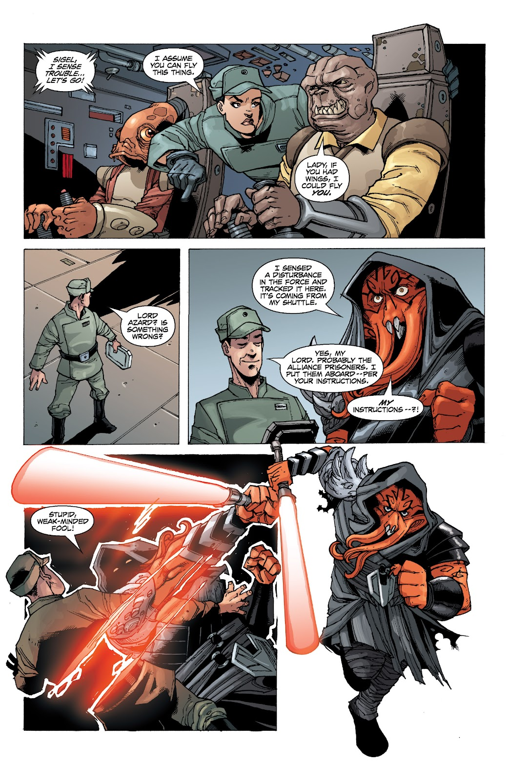 Read online Star Wars Legends: Legacy - Epic Collection comic -  Issue # TPB 2 (Part 1) - 91
