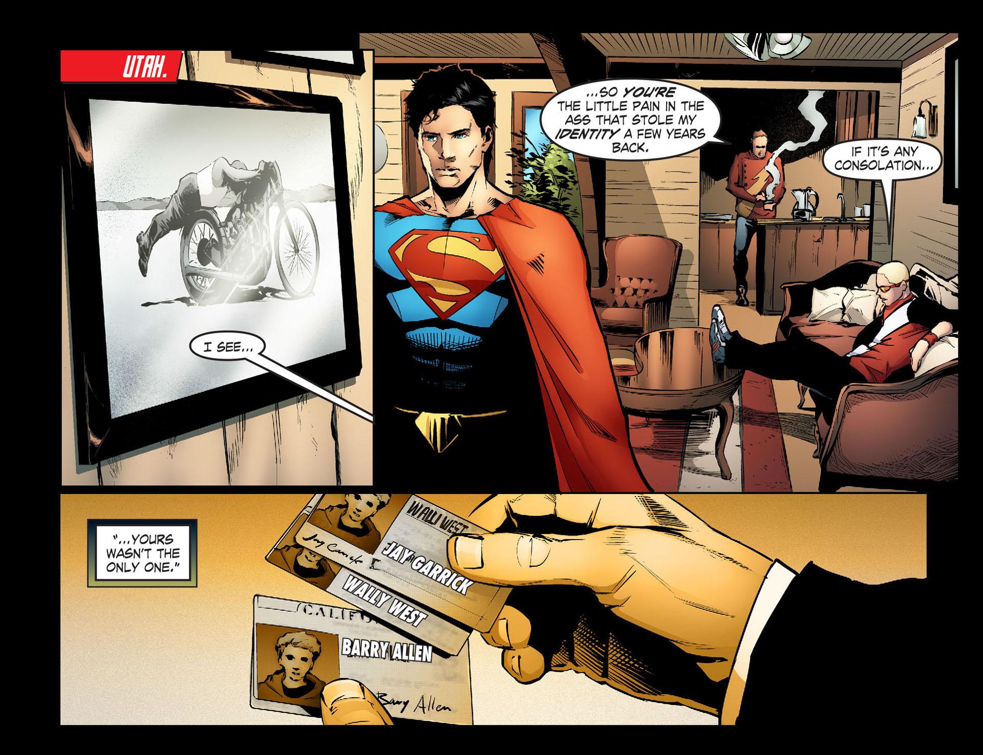 Read online Smallville: Season 11 comic -  Issue #33 - 17