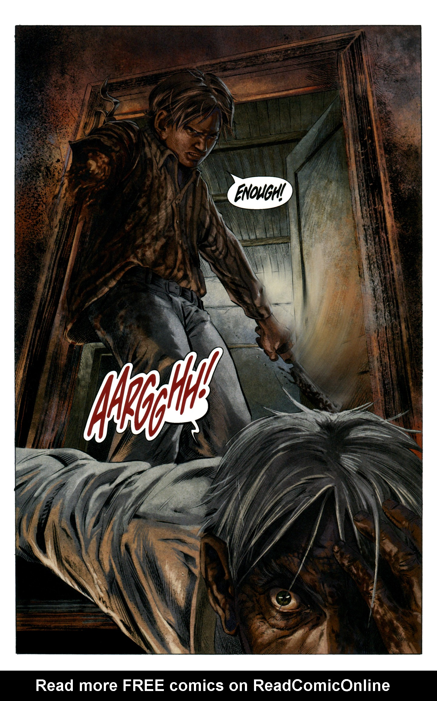 Read online Severed comic -  Issue #7 - 18