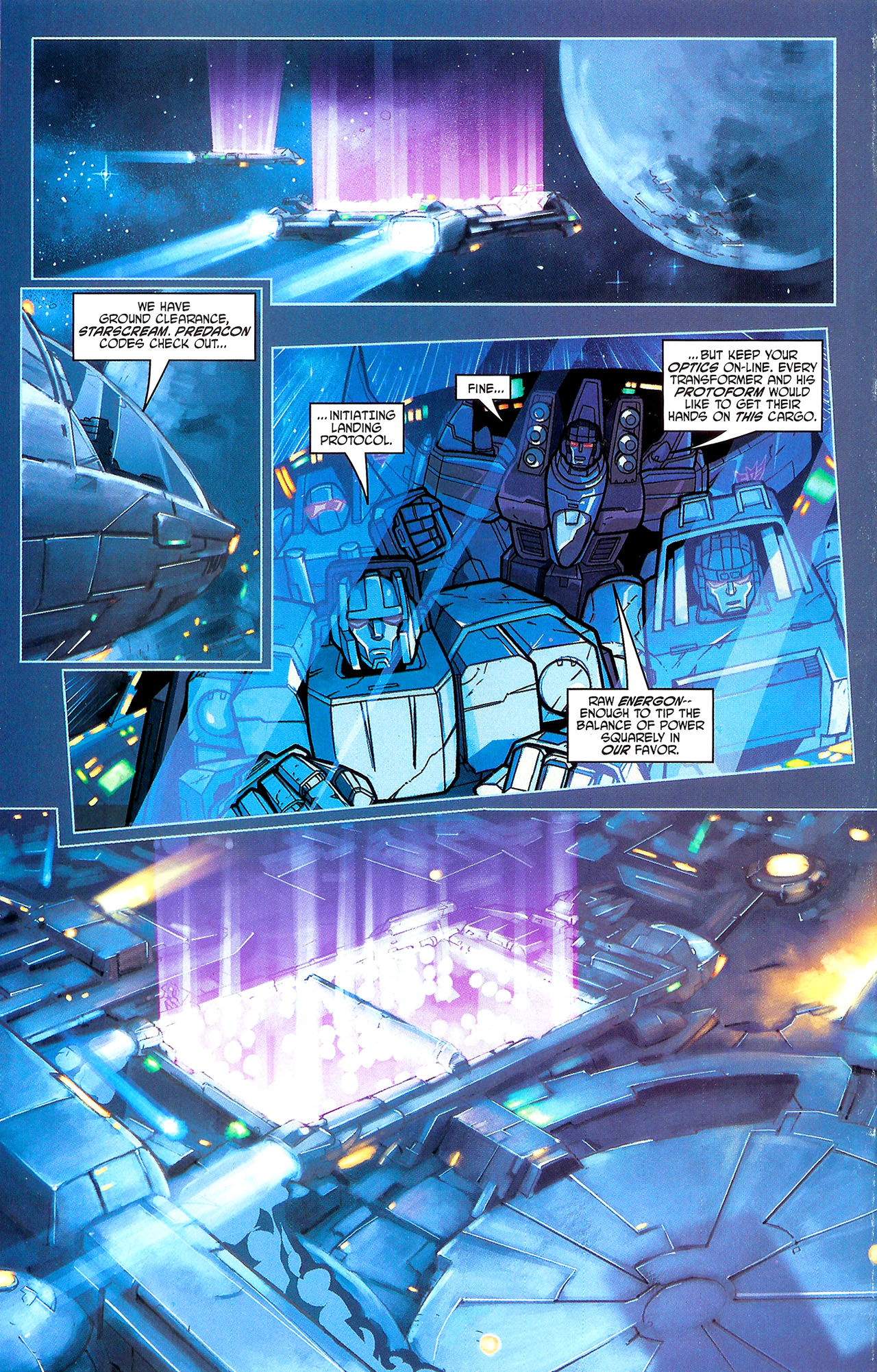 "Read online Transformers War Within: ""The Dark Ages"" comic -  Issue #1 - 17"