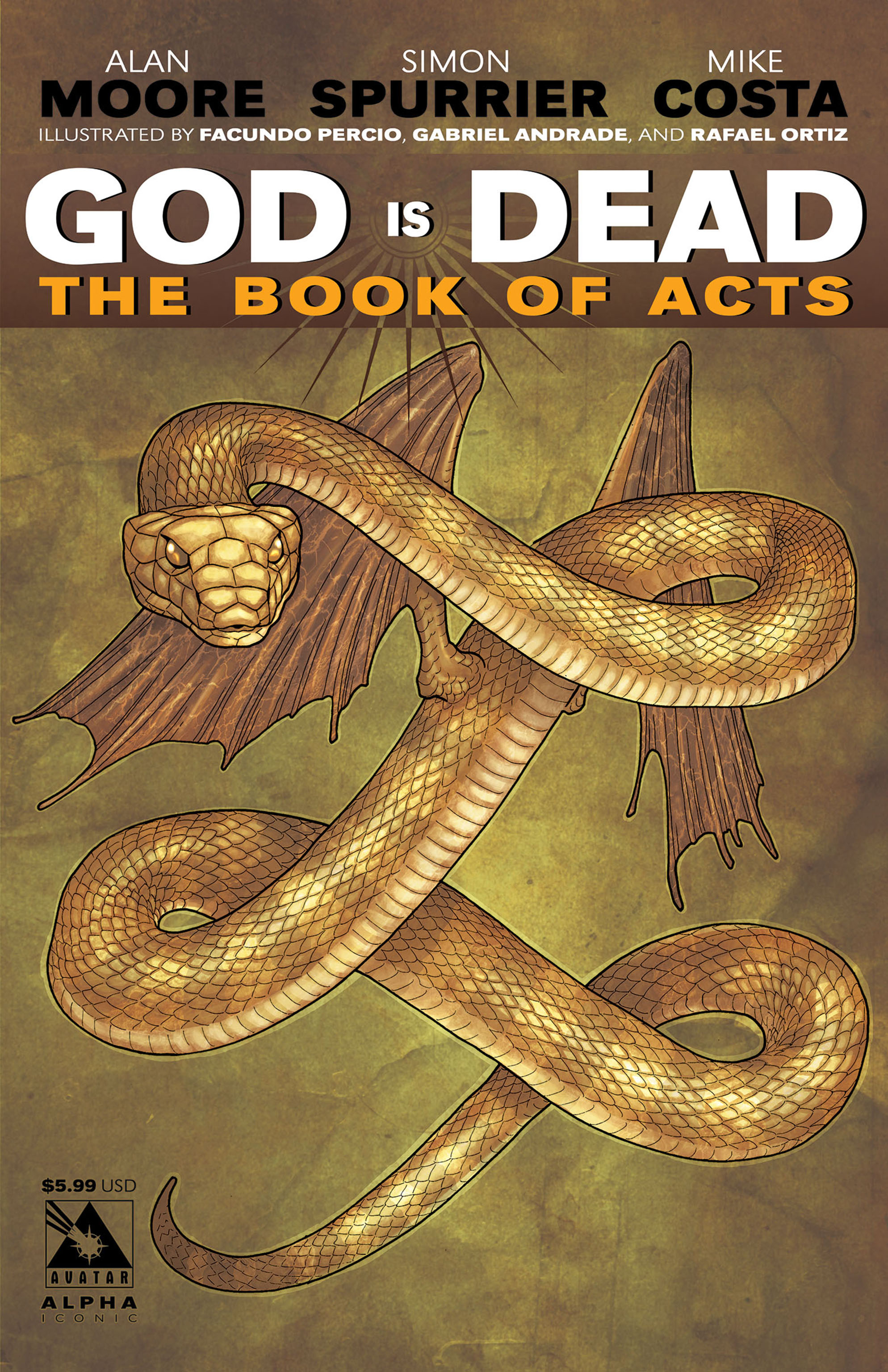 Read online God is Dead: Book of Acts comic -  Issue # Alpha - 5