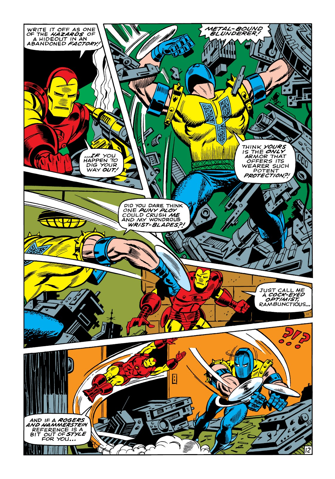 Read online Marvel Masterworks: The Invincible Iron Man comic -  Issue # TPB 5 (Part 2) - 45