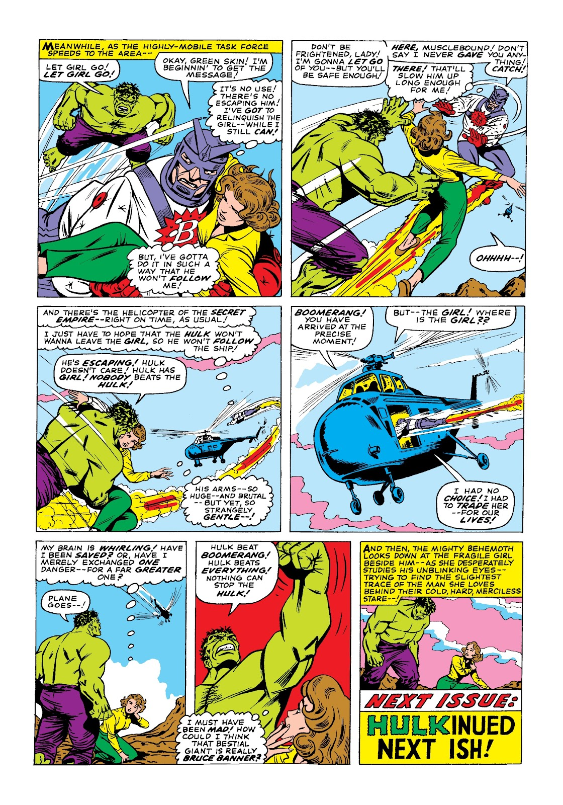 Read online Marvel Masterworks: The Incredible Hulk comic -  Issue # TPB 3 (Part 1) - 39