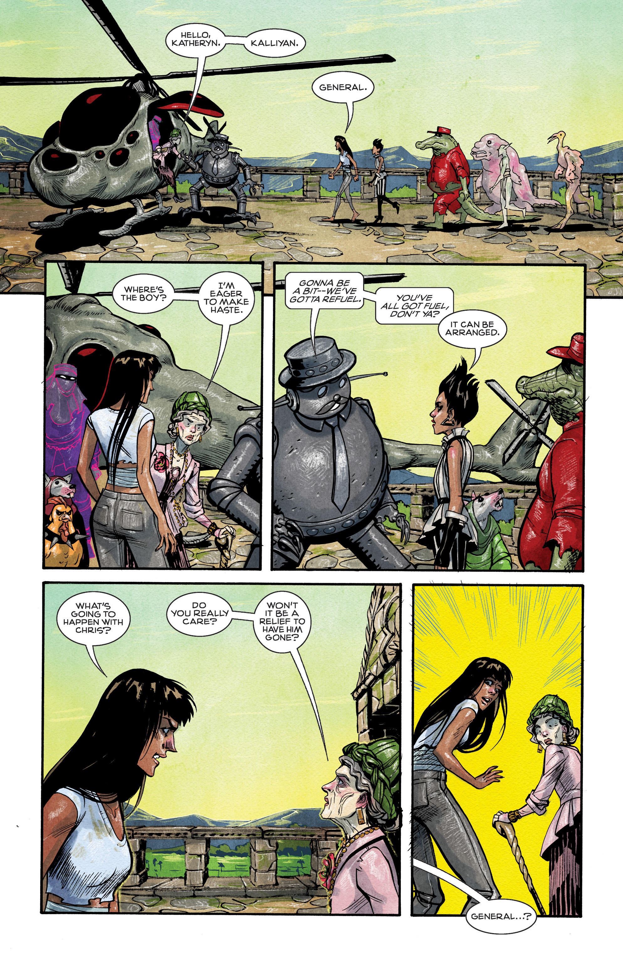 Read online Shutter comic -  Issue #9 - 13