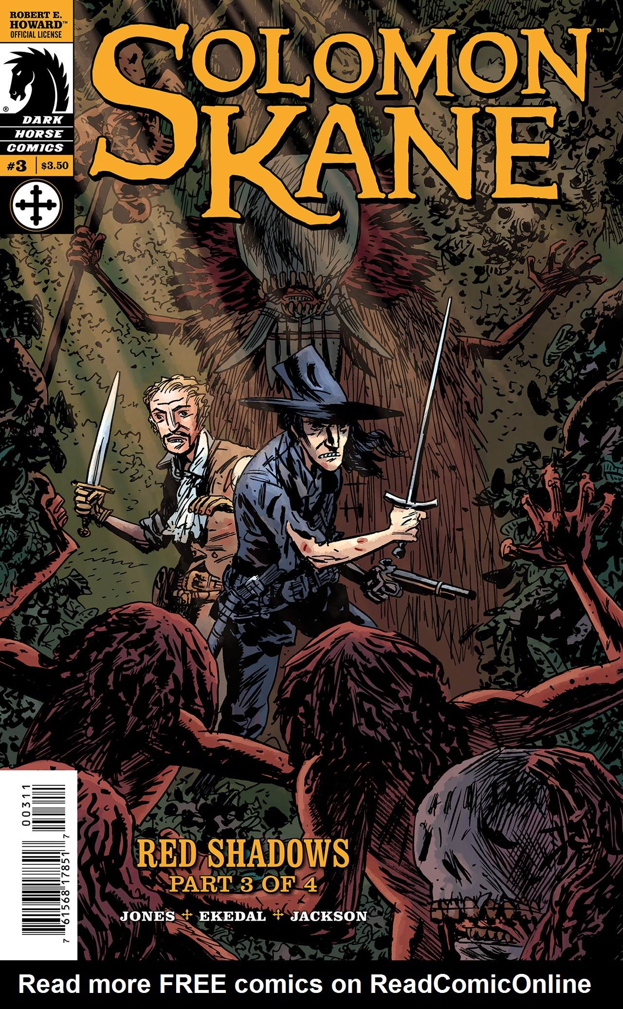 Read online Solomon Kane: Red Shadows comic -  Issue #3 - 1