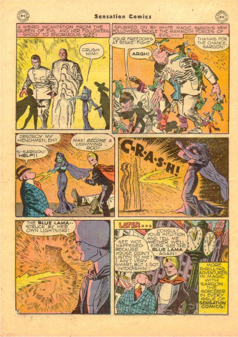 Read online Sensation (Mystery) Comics comic -  Issue #70 - 31