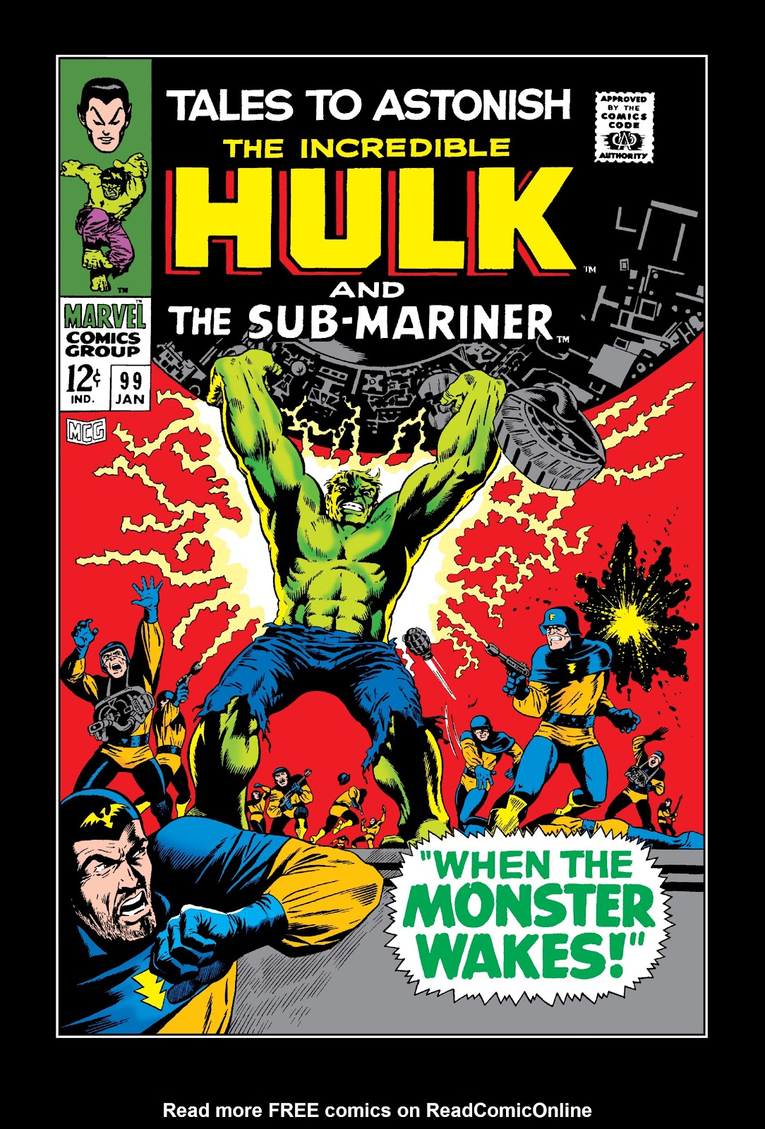 Read online Marvel Masterworks: The Incredible Hulk comic -  Issue # TPB 3 (Part 3) - 16