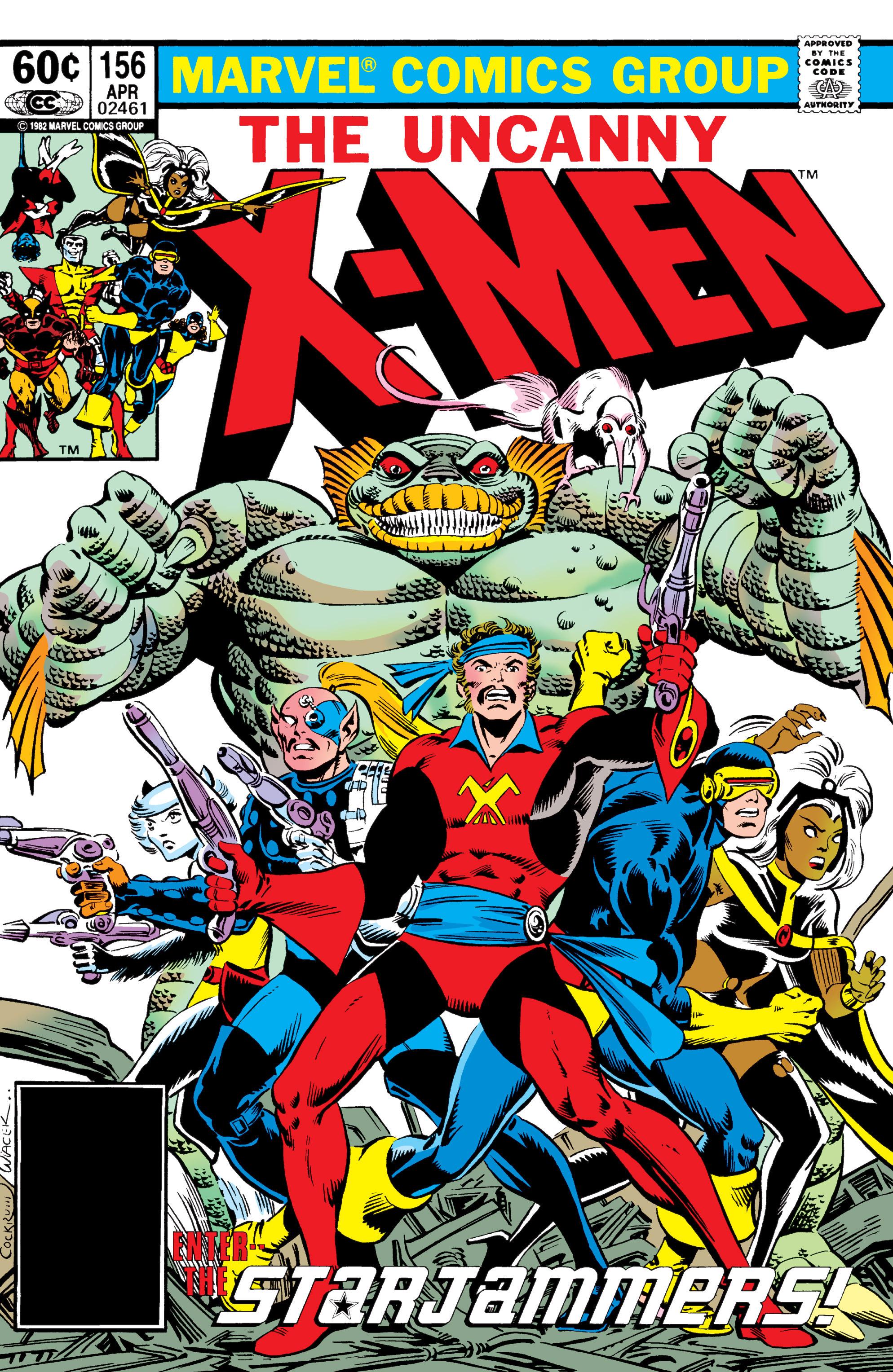 Uncanny X-Men (1963) 156 Page 1