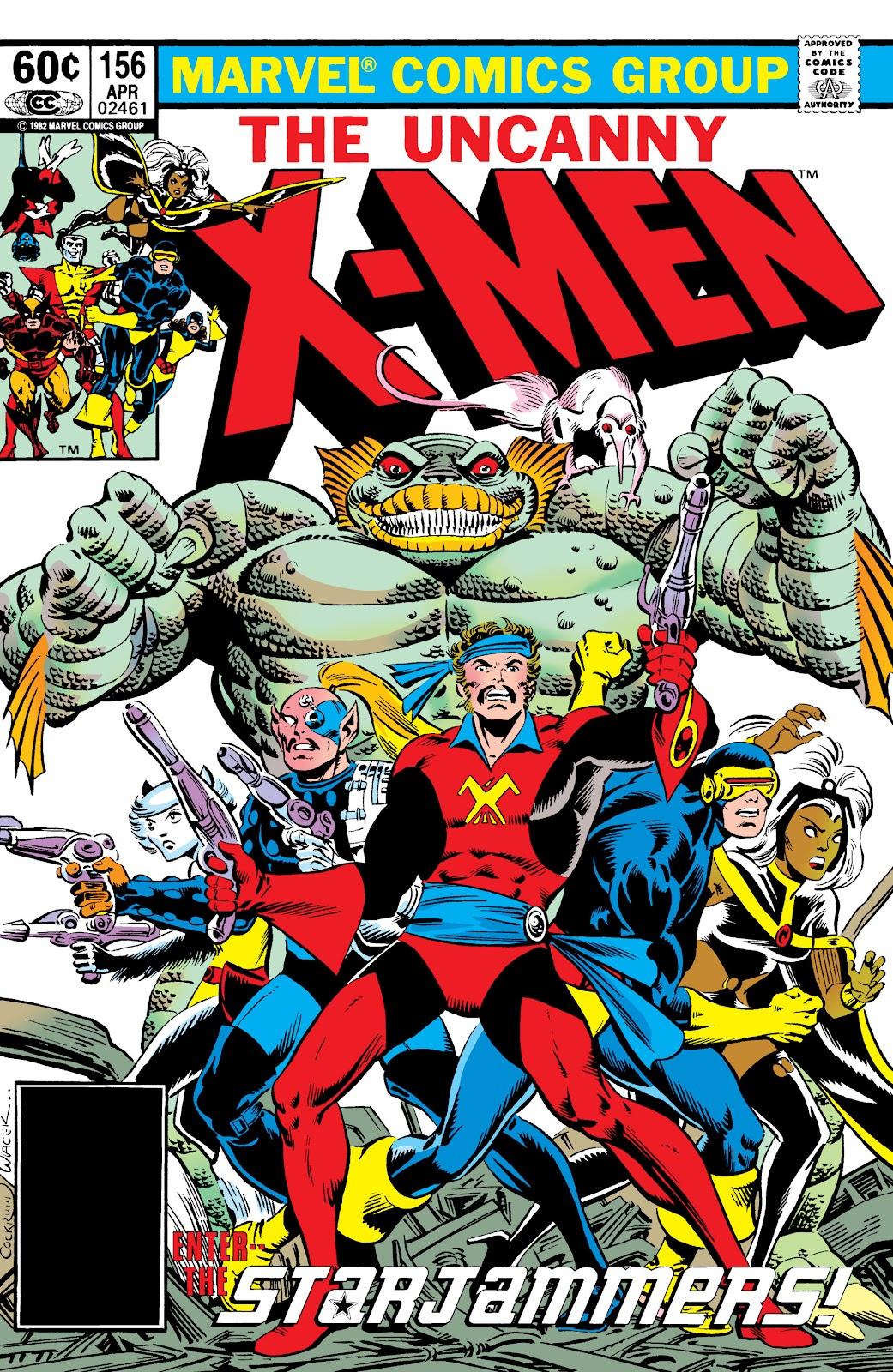 Uncanny X-Men (1963) issue 156 - Page 1