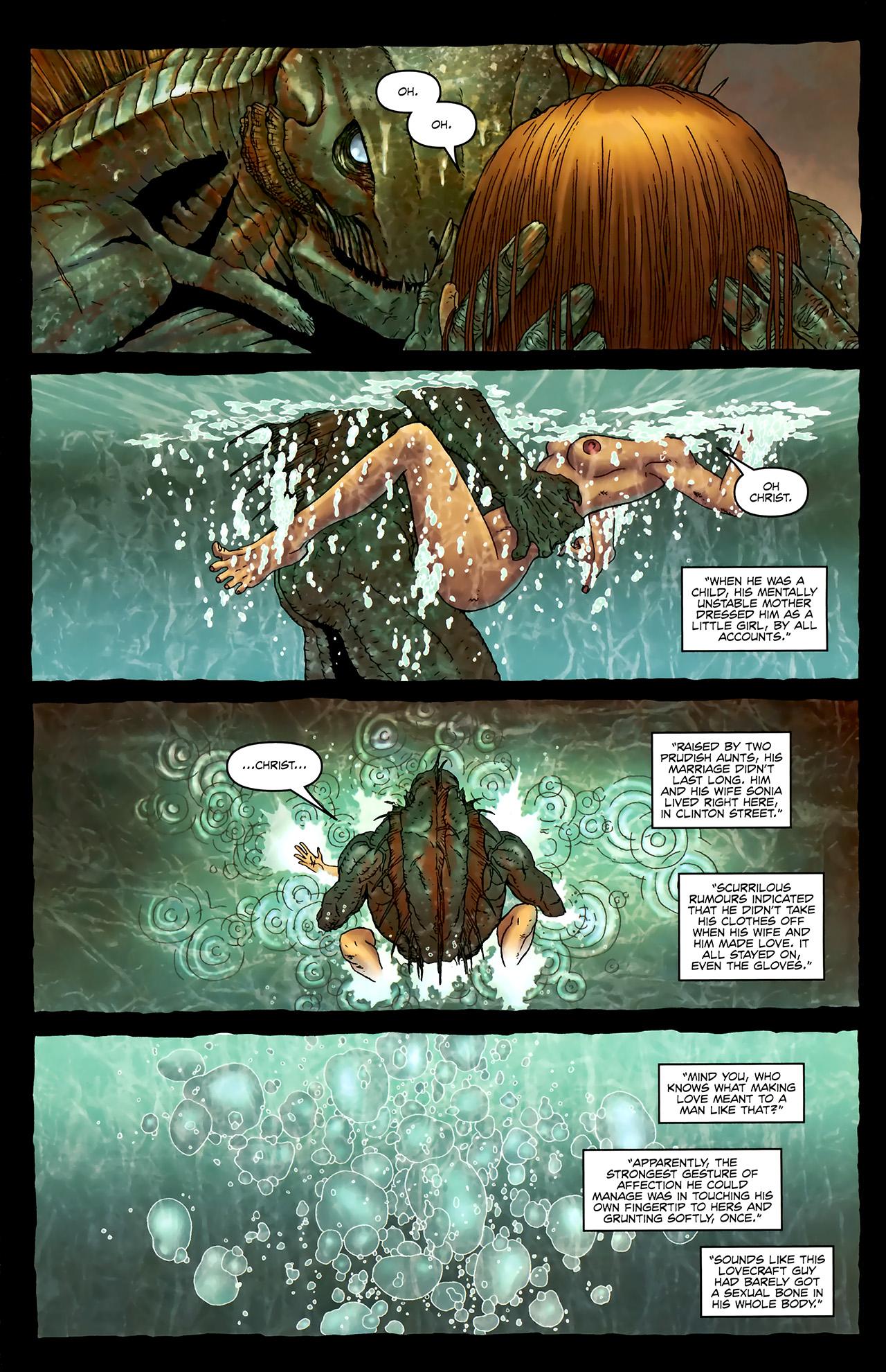Read online Alan Moore's Neonomicon comic -  Issue #3 - 17