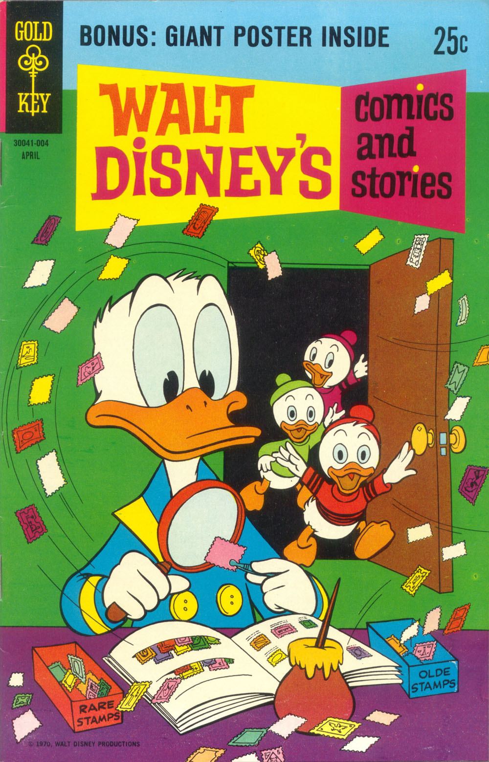 Walt Disney's Comics and Stories issue 355 - Page 1