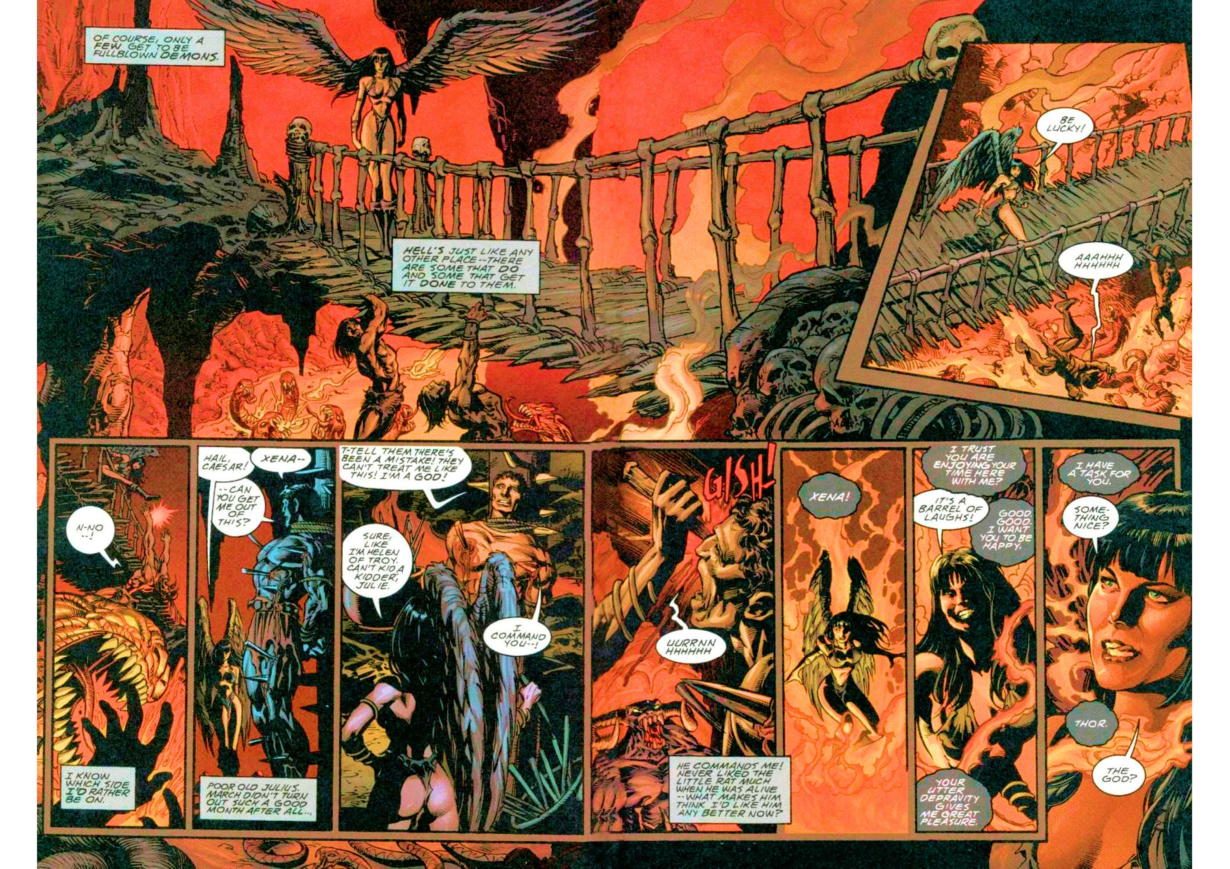Read online Xena: Warrior Princess (1999) comic -  Issue #3 - 7