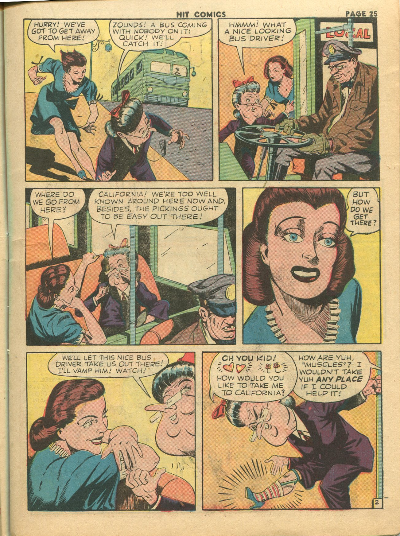 Read online Hit Comics comic -  Issue #28 - 28