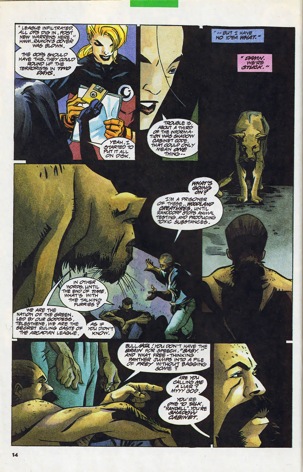 Read online Shadow Cabinet comic -  Issue #4 - 10