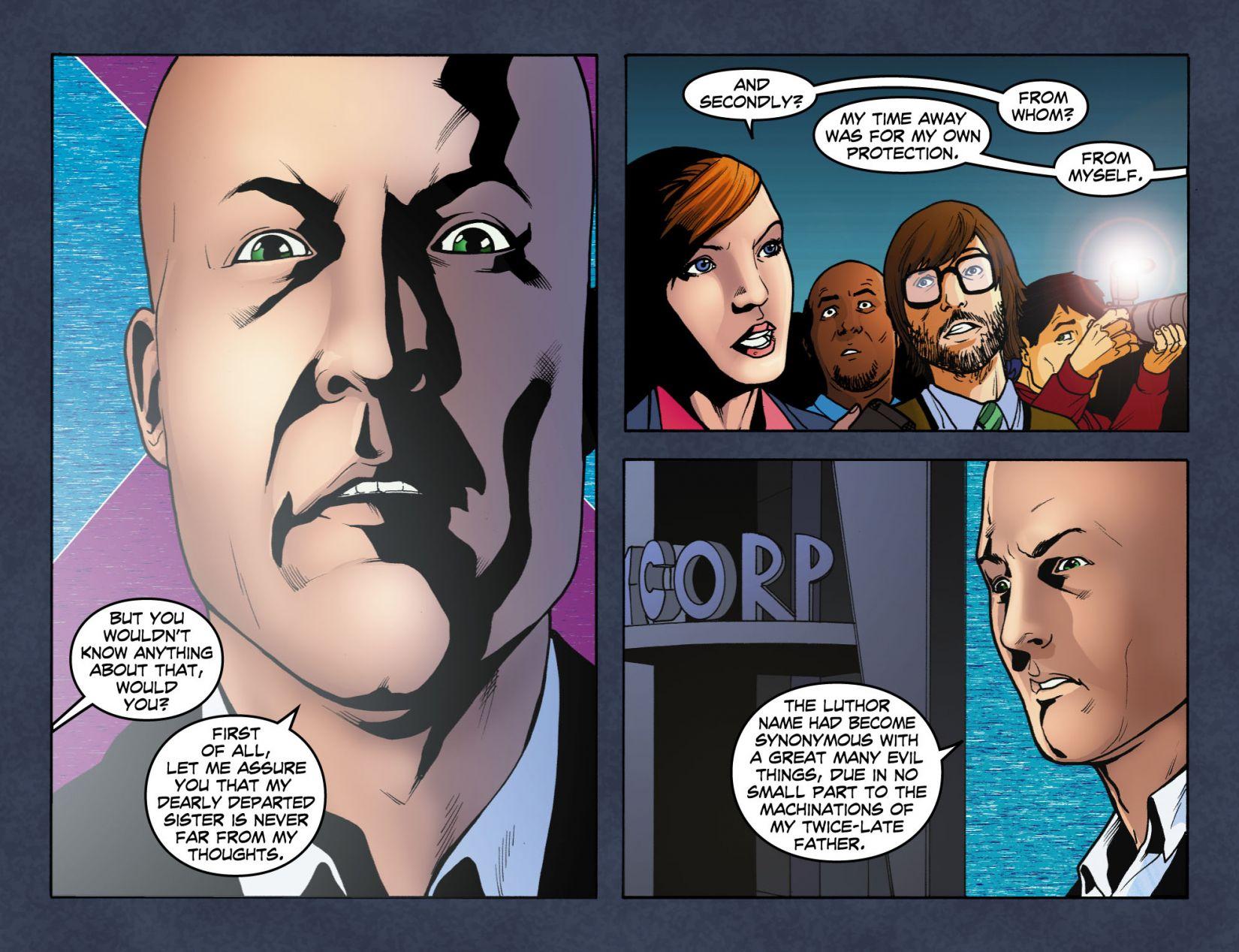 Read online Smallville: Season 11 comic -  Issue #4 - 17
