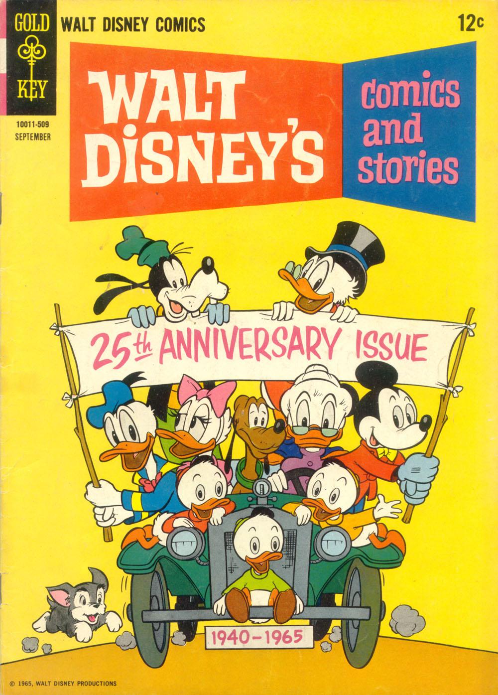 Walt Disneys Comics and Stories 300 Page 1