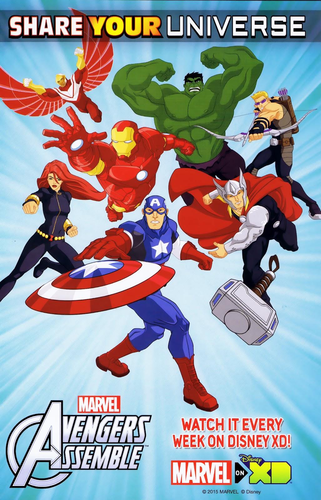 Read online Marvel Universe Avengers Assemble Season 2 comic -  Issue #15 - 31