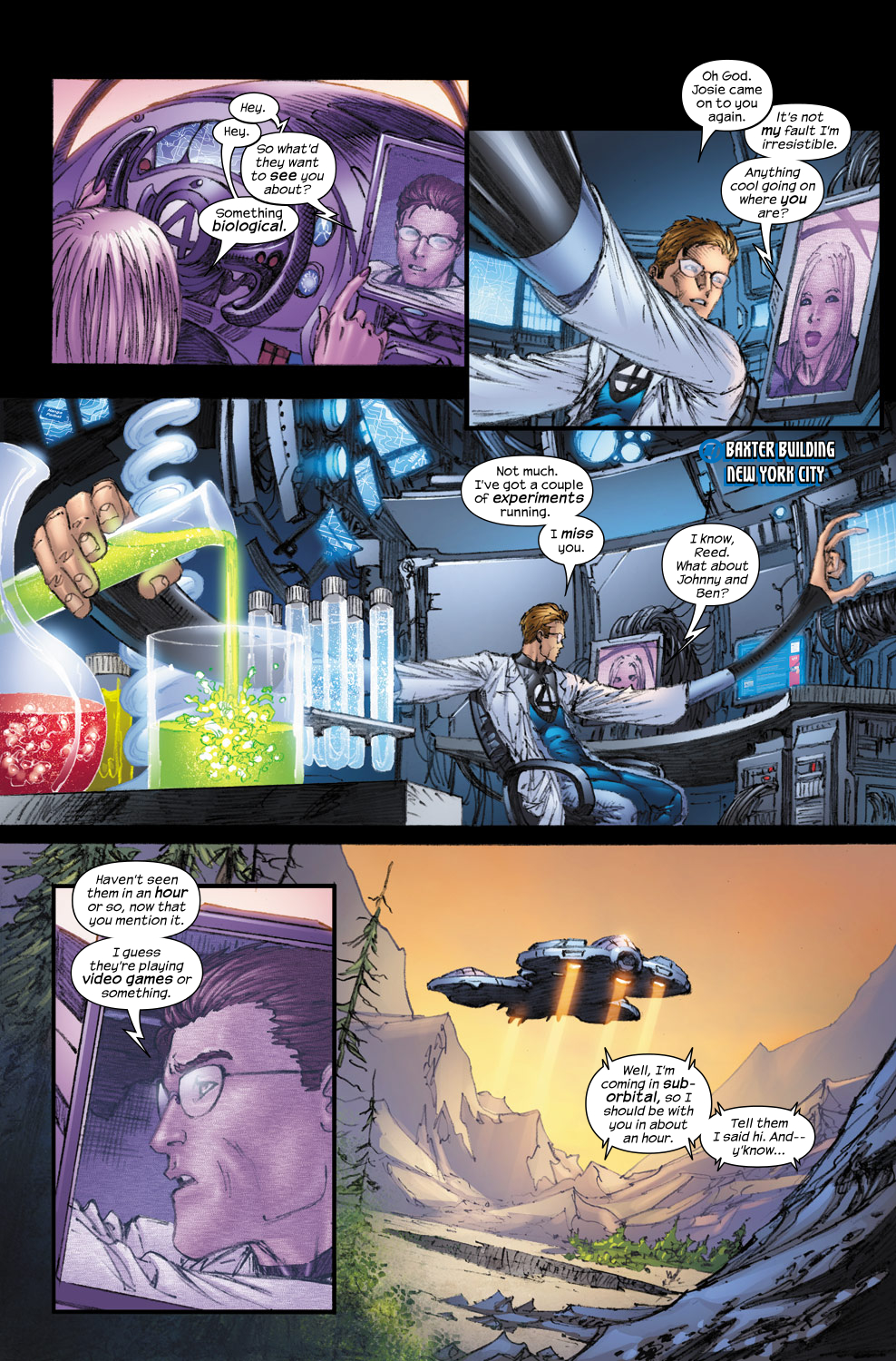 Read online Ultimate Fantastic Four (2004) comic -  Issue #54 - 7