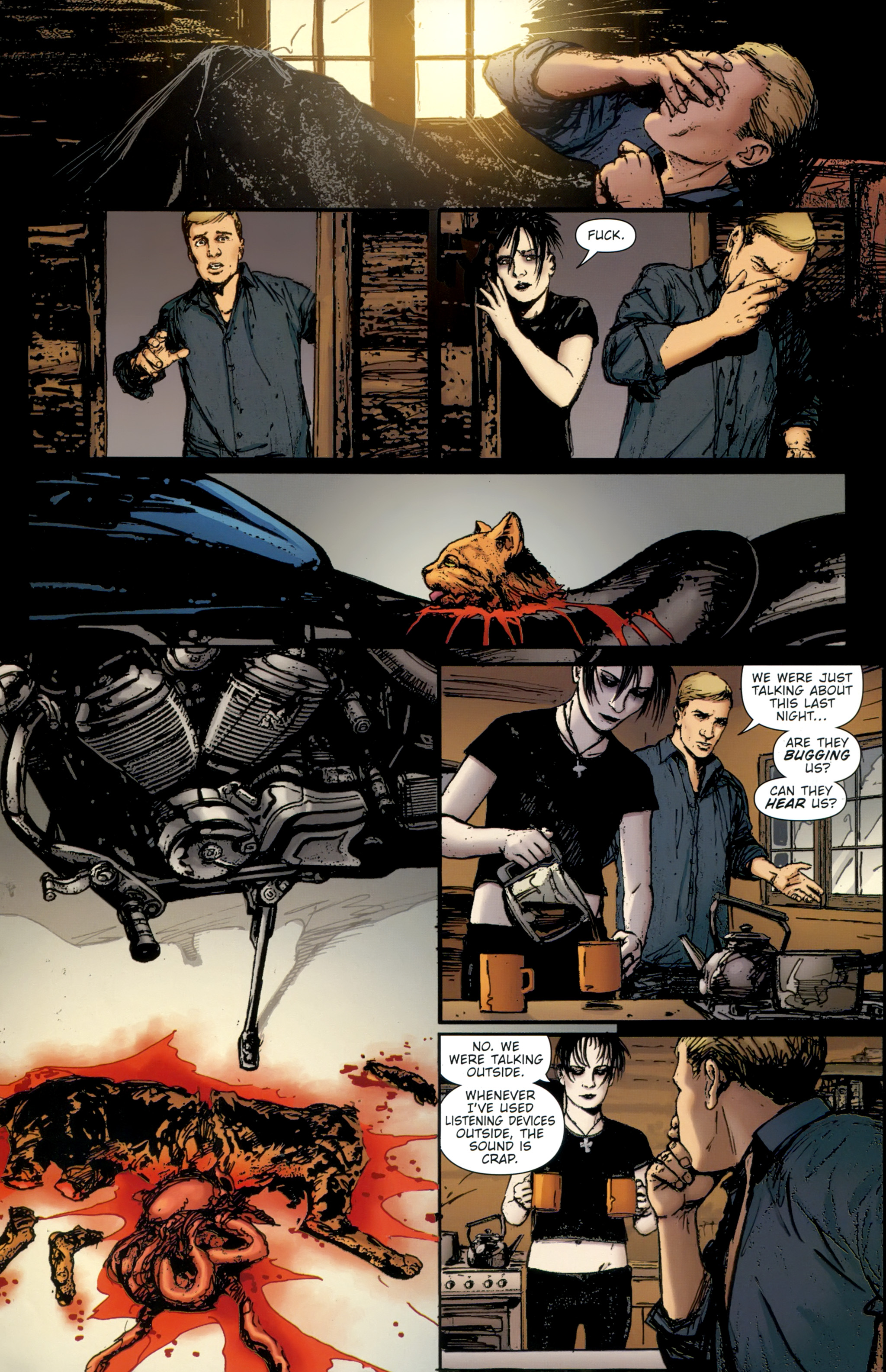 Read online The Girl With the Dragon Tattoo comic -  Issue # TPB 2 - 69