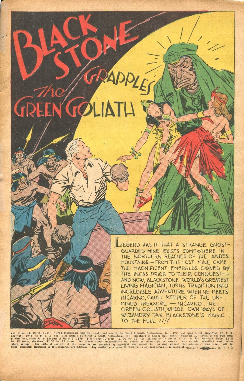 Read online Super-Magician Comics comic -  Issue #35 - 3