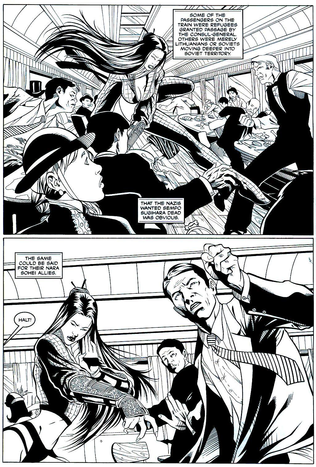 Read online Shi: Sempo comic -  Issue #2 - 4