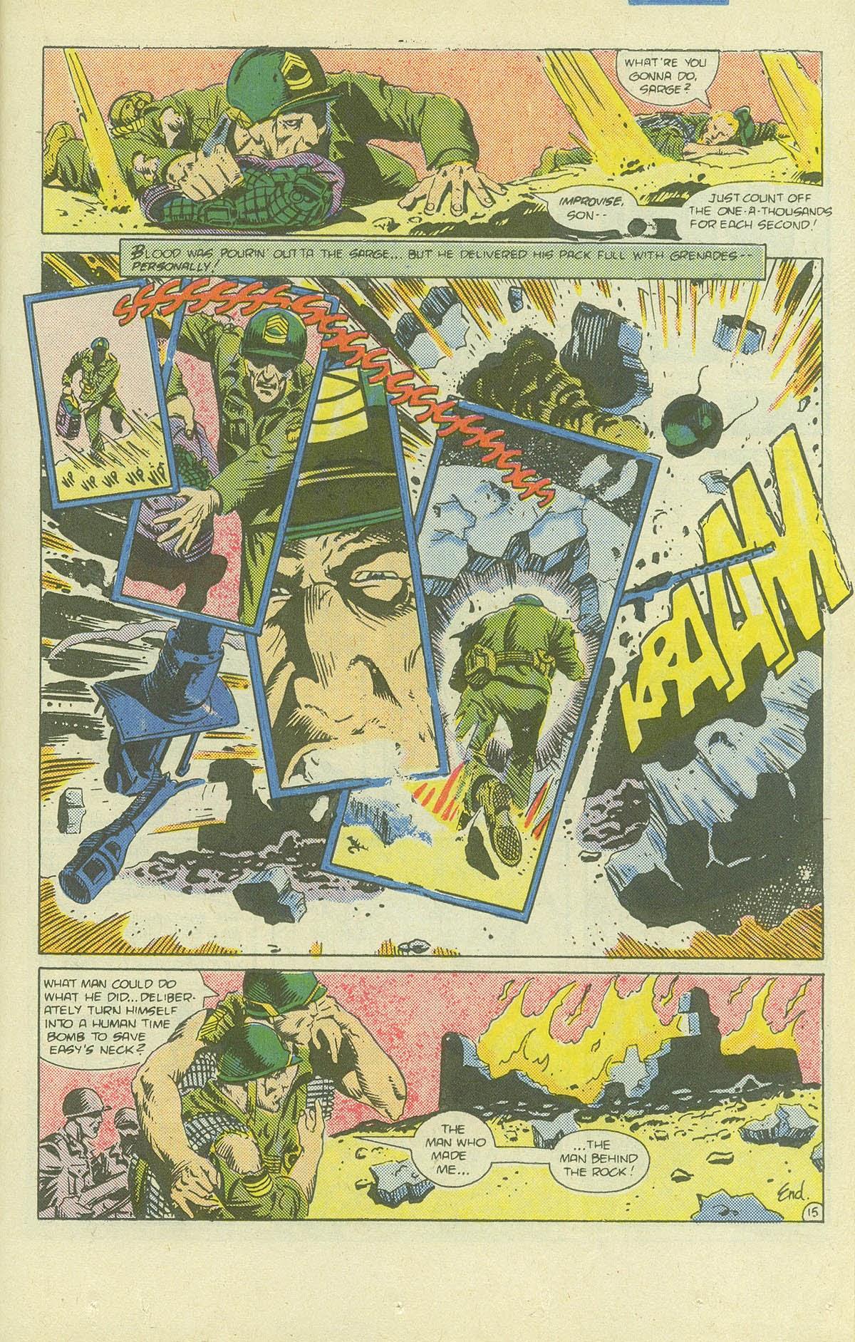 Read online Sgt. Rock comic -  Issue #411 - 20