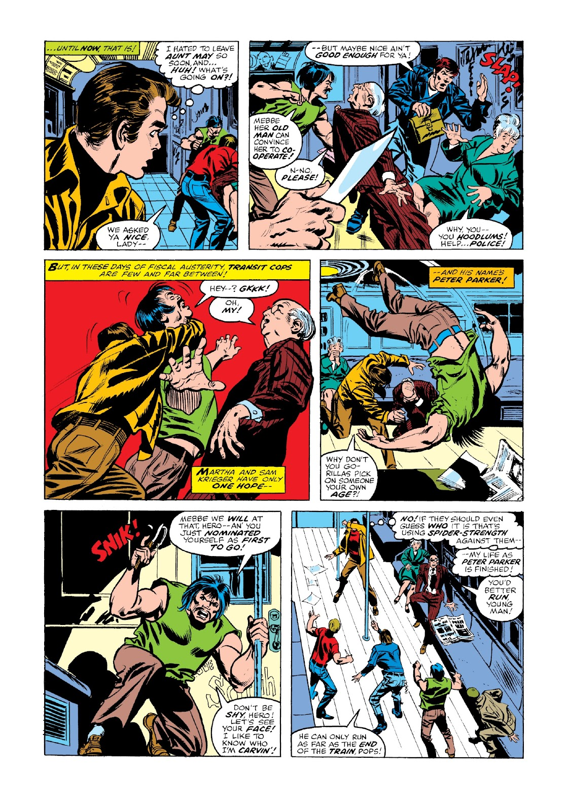 Read online Marvel Masterworks: The Spectacular Spider-Man comic -  Issue # TPB 2 (Part 2) - 56