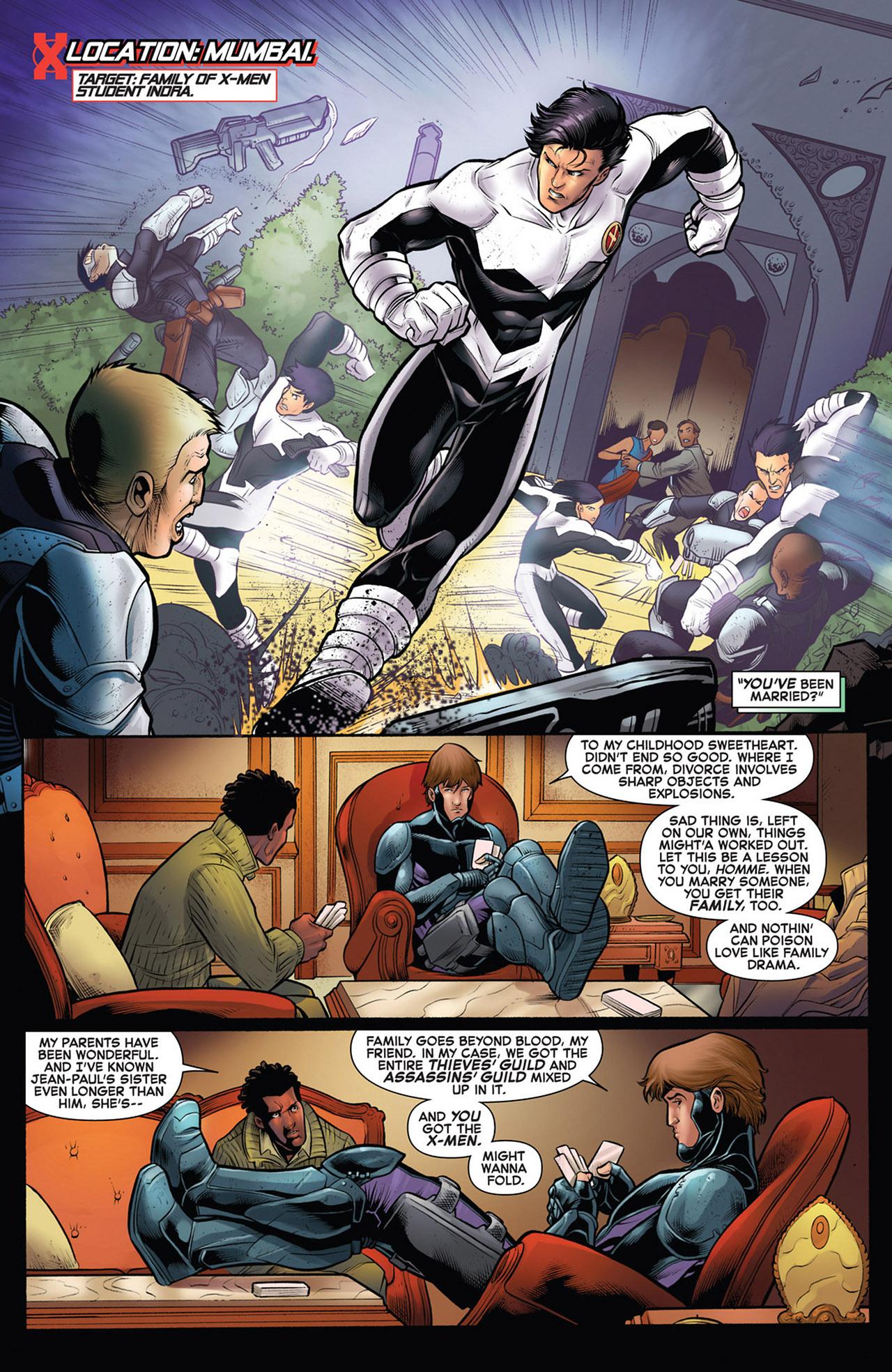 Read online Astonishing X-Men (2004) comic -  Issue # _Annual 1 - 2