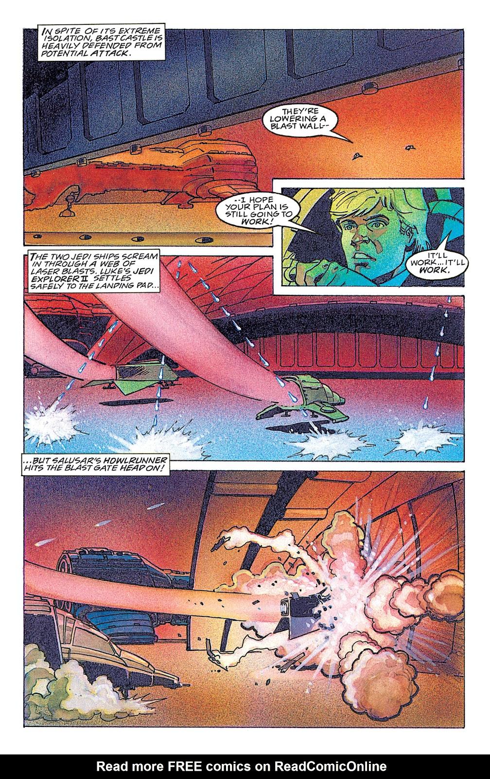Read online Star Wars: Dark Empire Trilogy comic -  Issue # TPB (Part 4) - 29