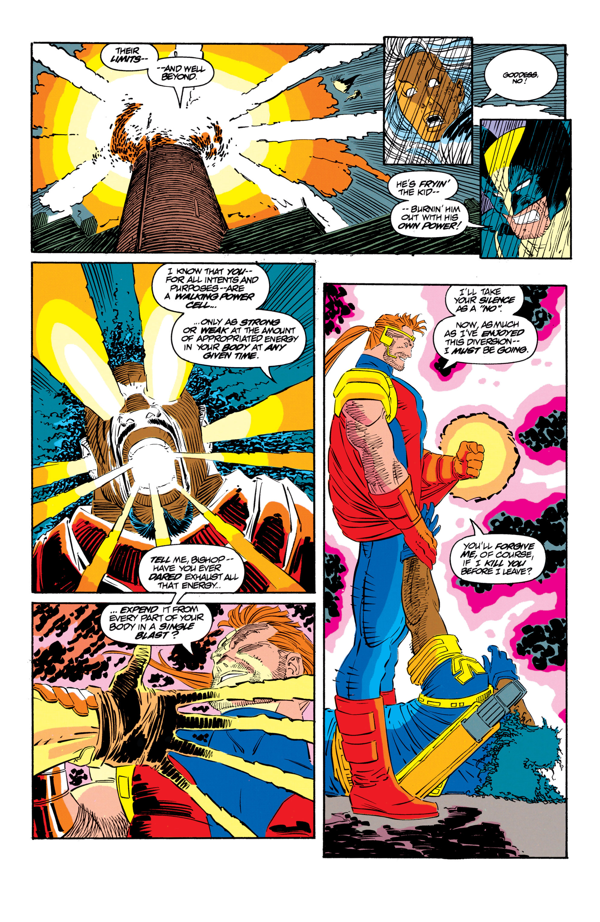 Read online Uncanny X-Men (1963) comic -  Issue #300 - 42
