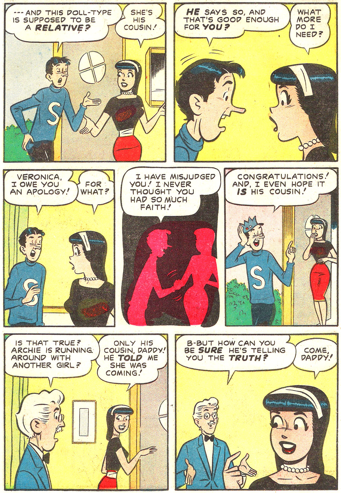 Read online Archie's Girls Betty and Veronica comic -  Issue #54 - 7